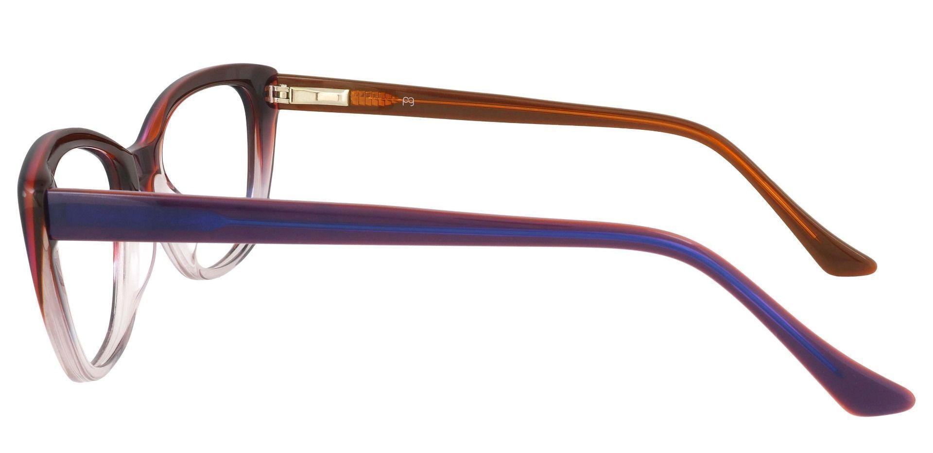 Athena Cat-Eye Prescription Glasses - Multi Color