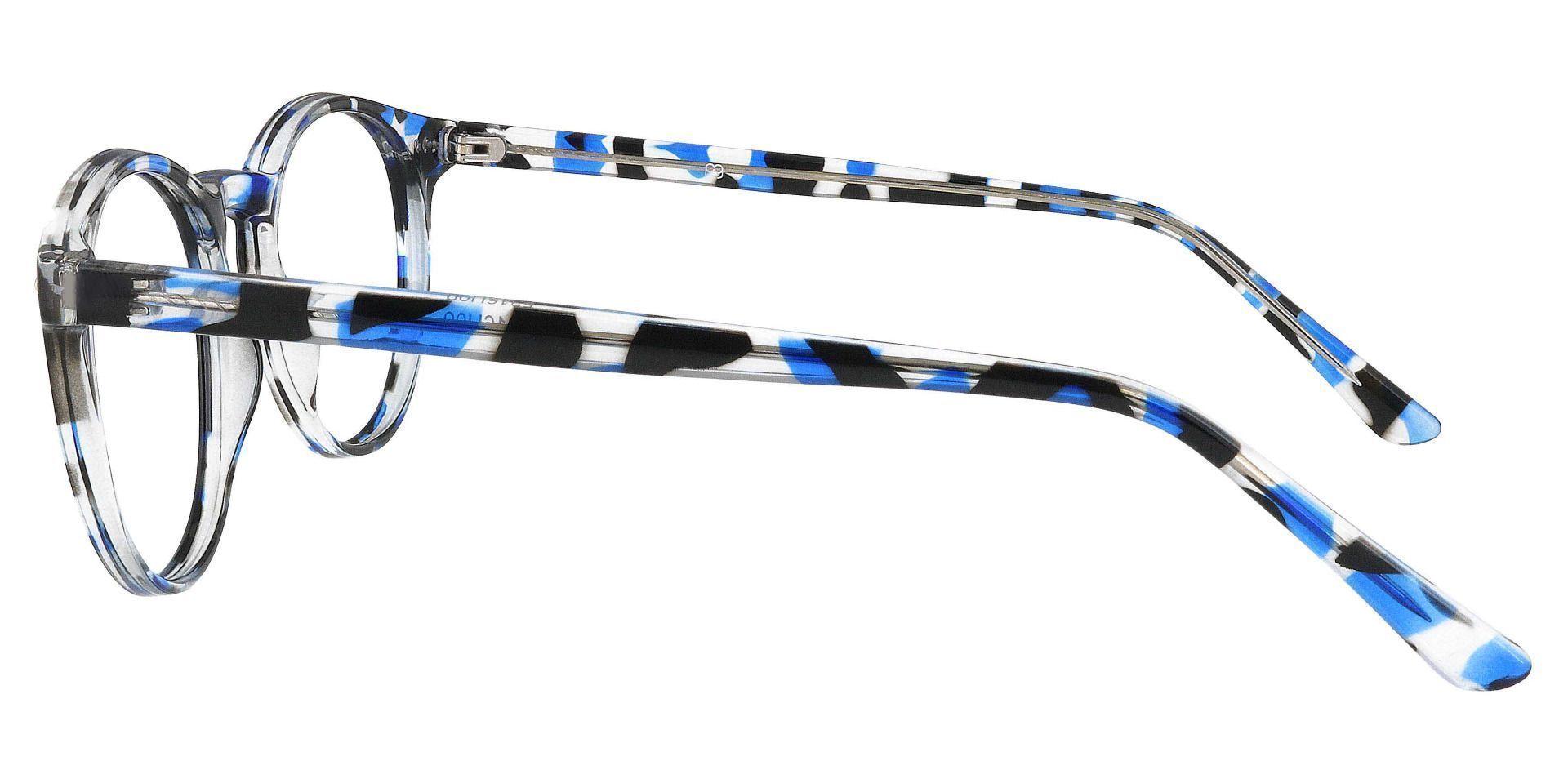 Dormont Round Prescription Glasses - Blue