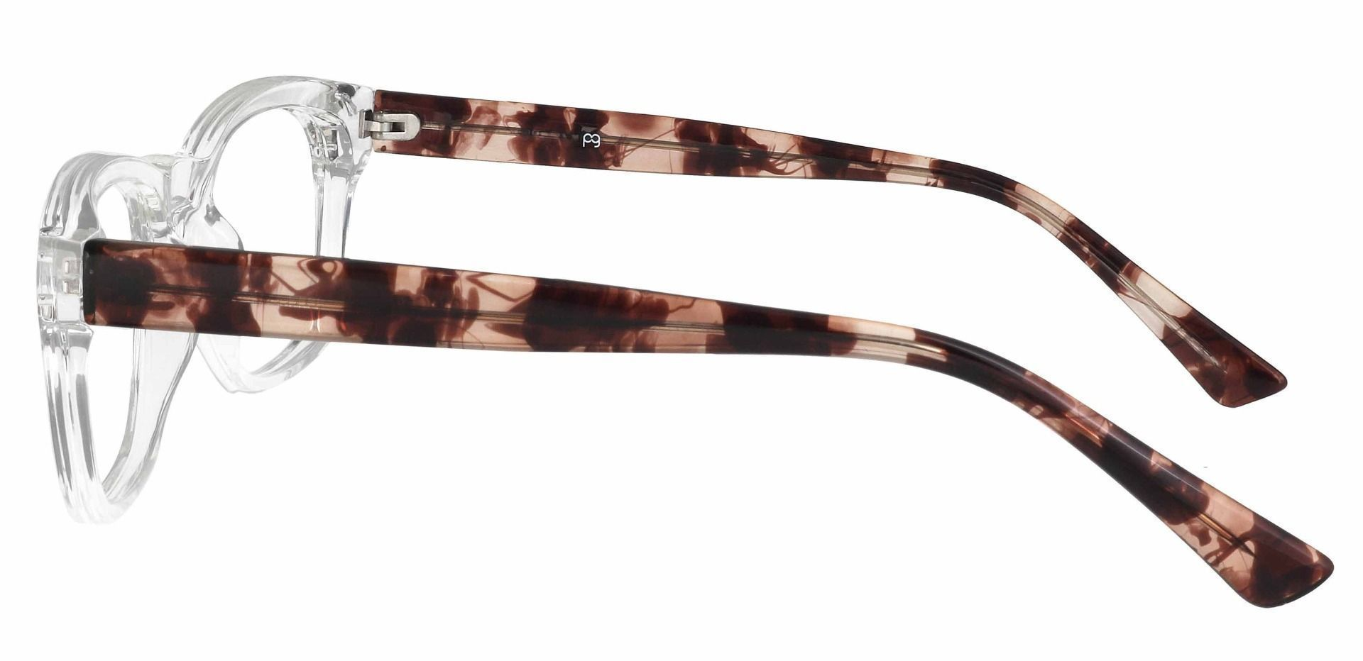 Hanover Oval Prescription Glasses - Clear