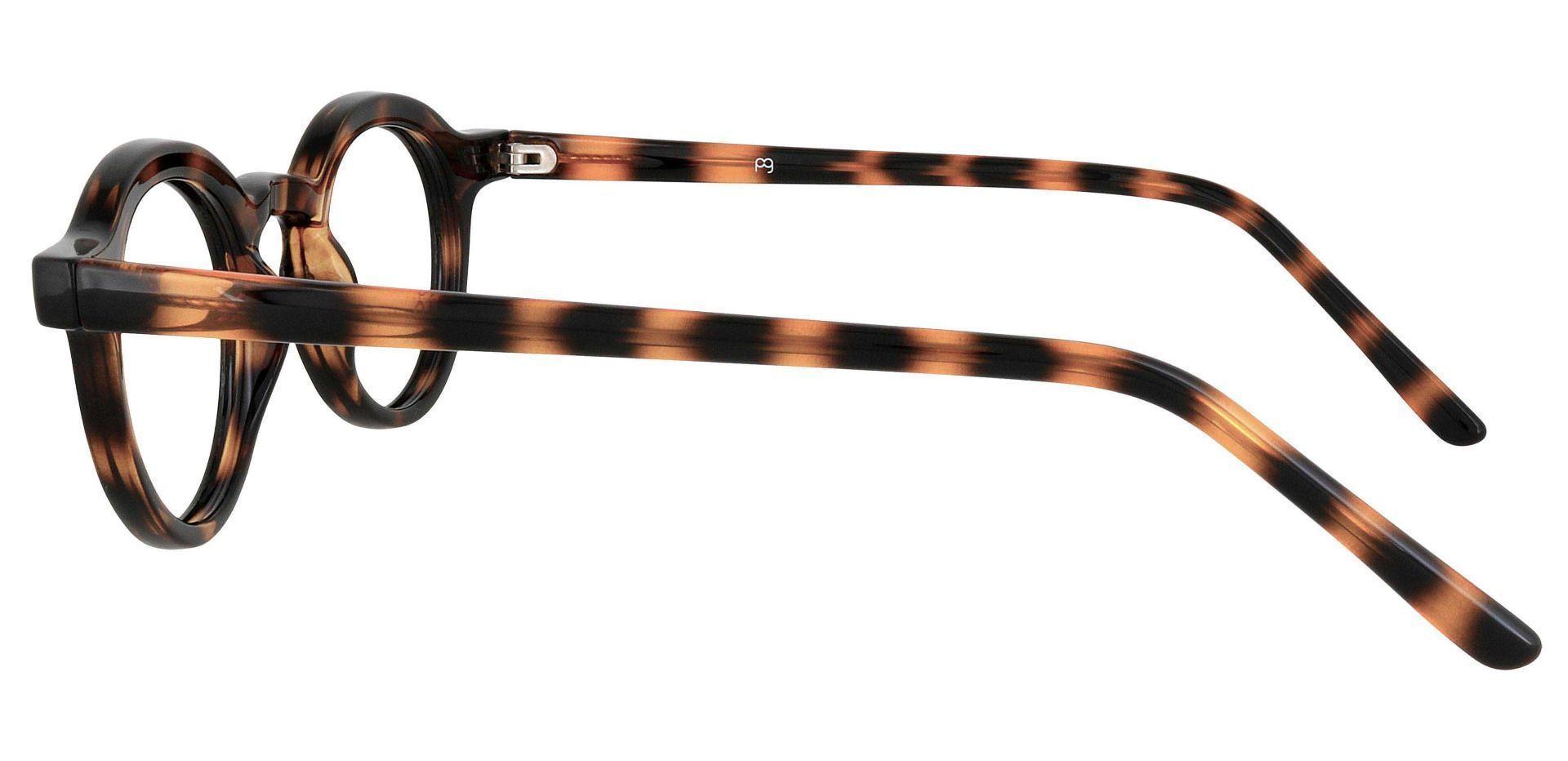 Moonshine Round Prescription Glasses - Tortoise