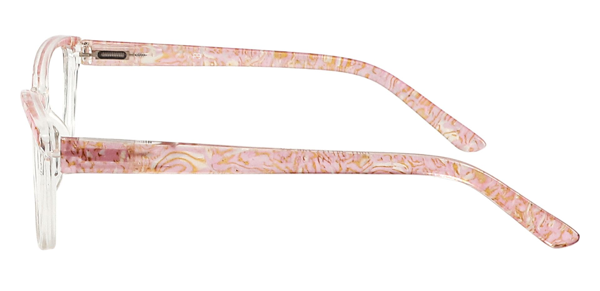 Florence Cat Eye Progressive Glasses - Pink