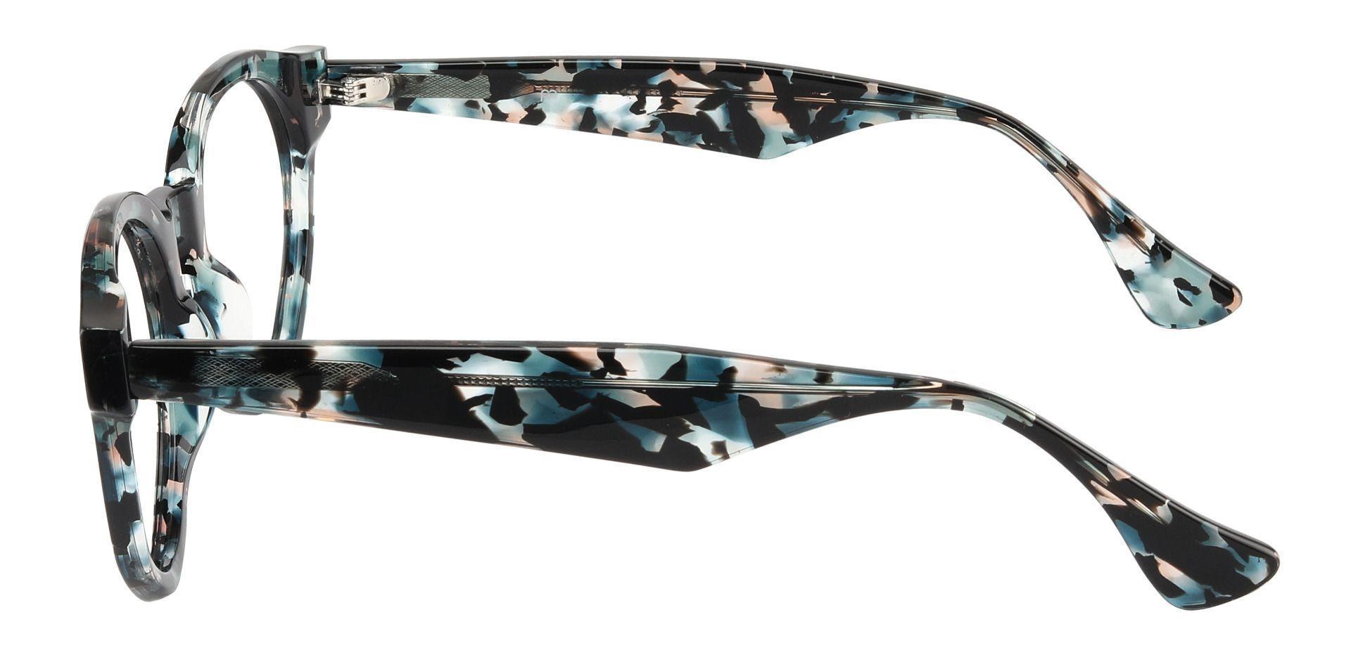 Kedron Round Prescription Glasses - Floral