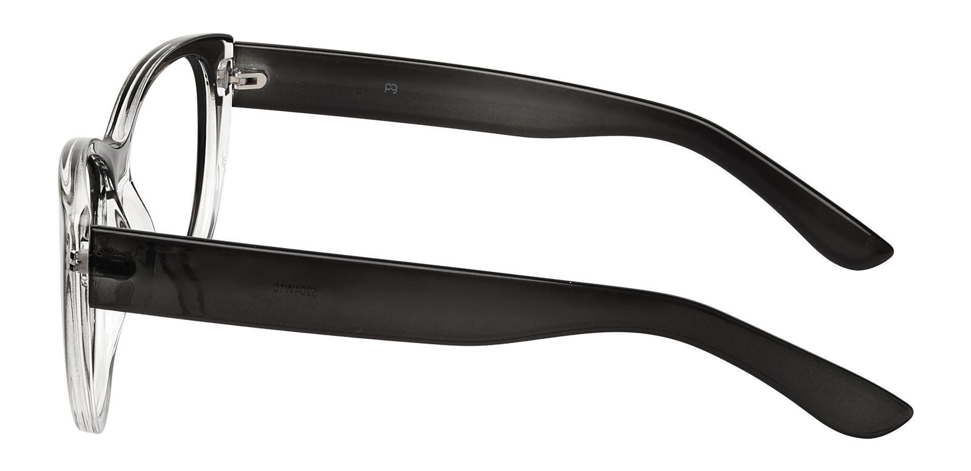 Lynn Cat-Eye Non-Rx Glasses - Gray