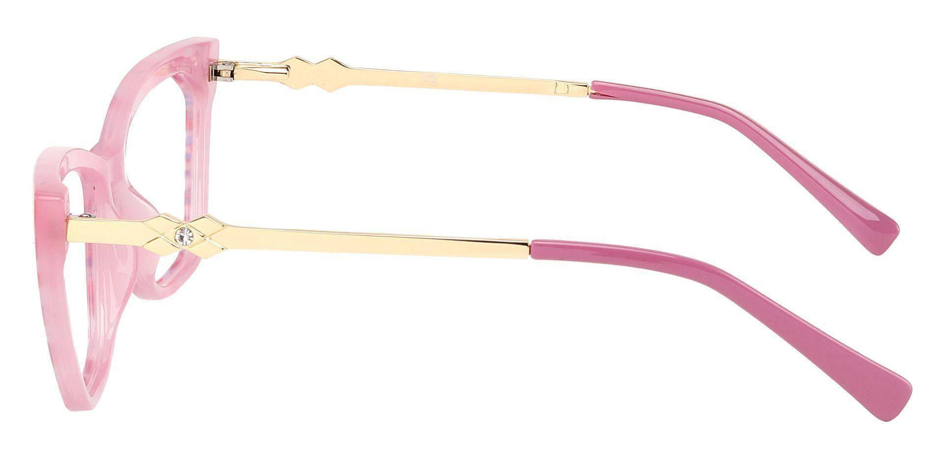 Addison Cat Eye Prescription Glasses - Pink