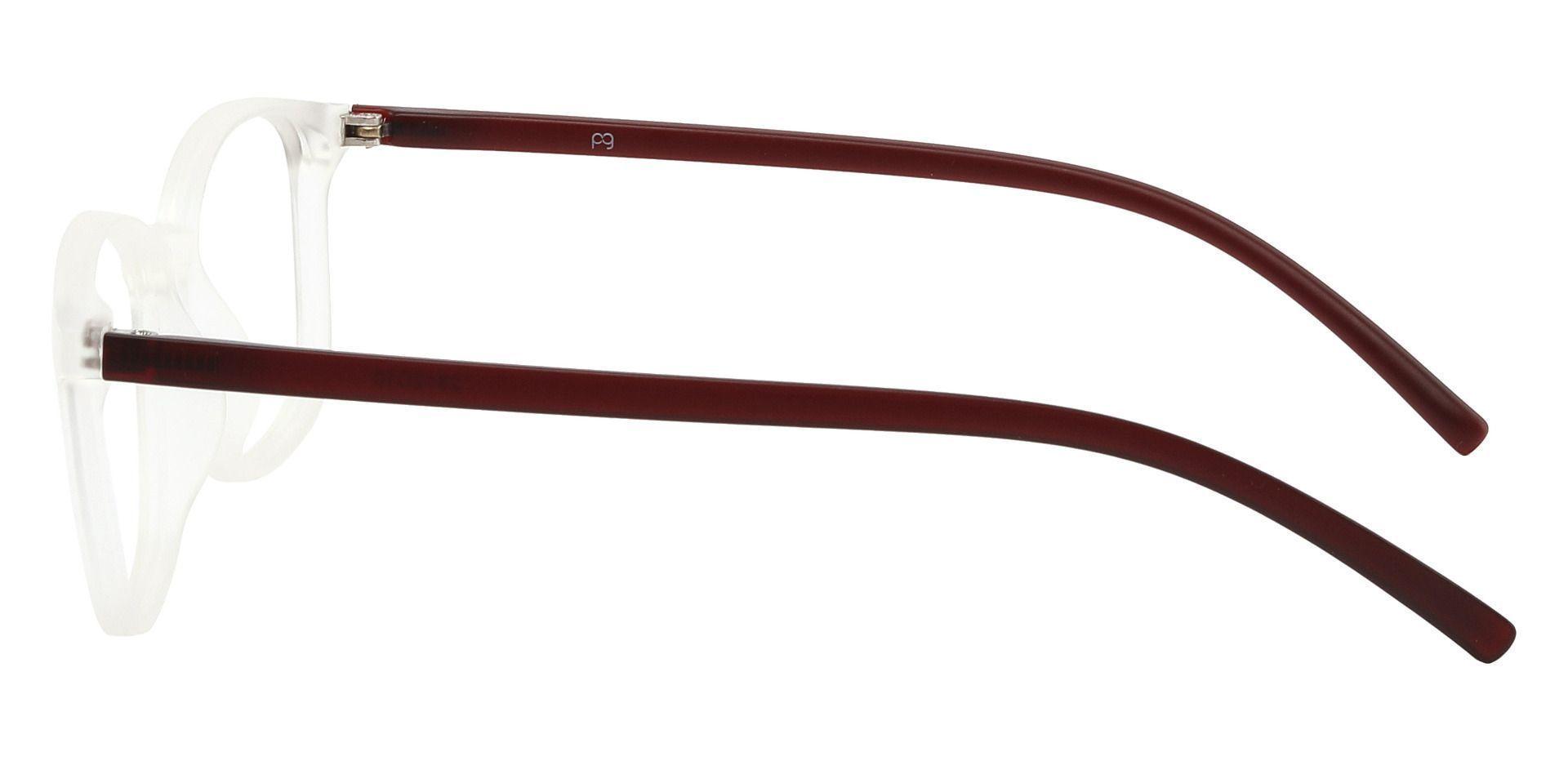 Onyx Square Prescription Glasses - Clear