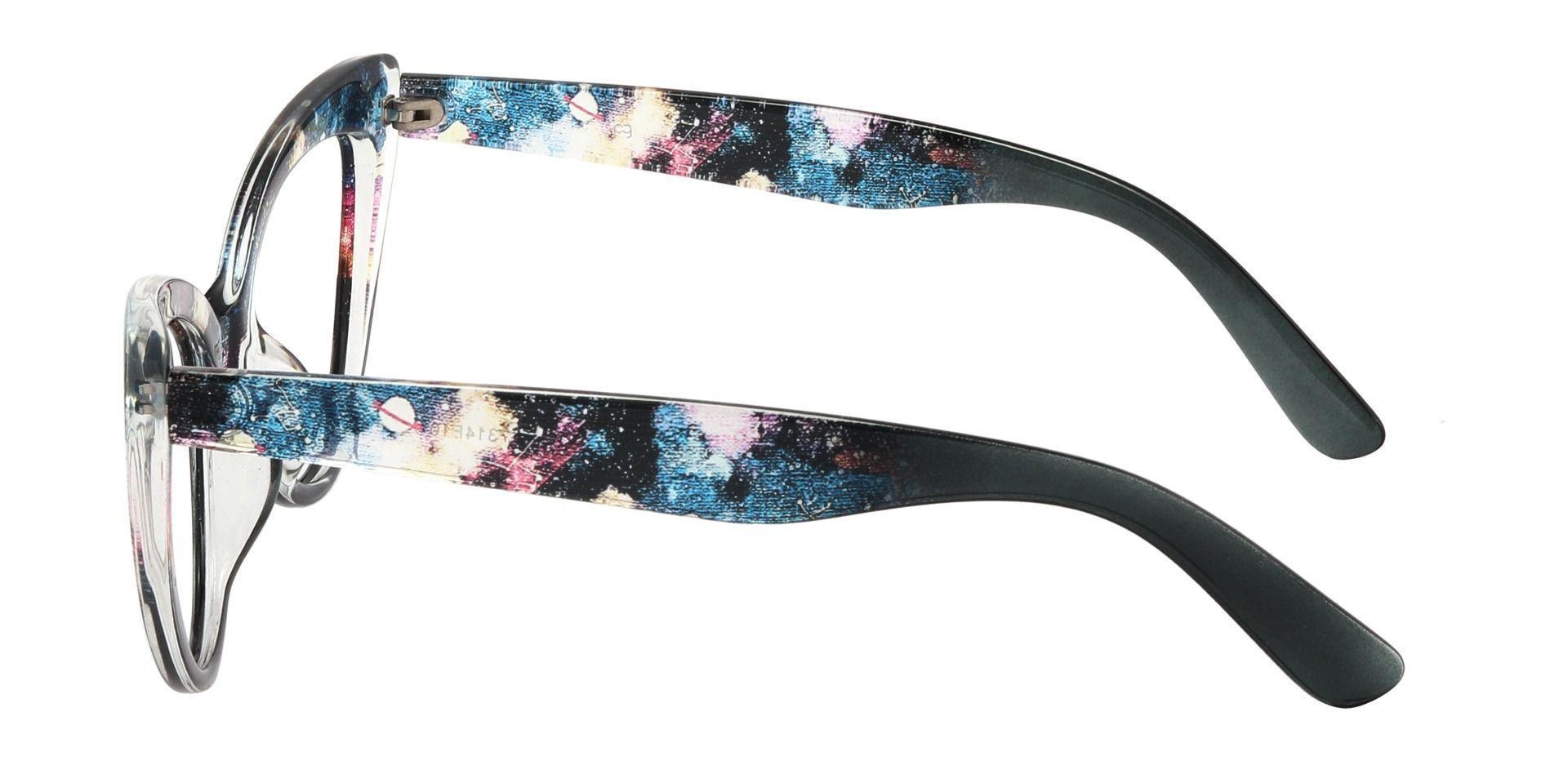 Melinda Cat Eye Prescription Glasses - Floral