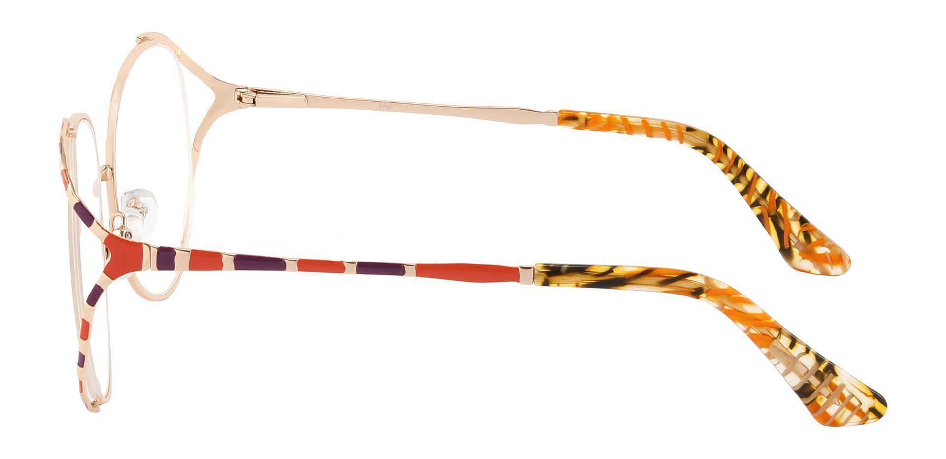 Dorothy Oval Prescription Glasses - Brown