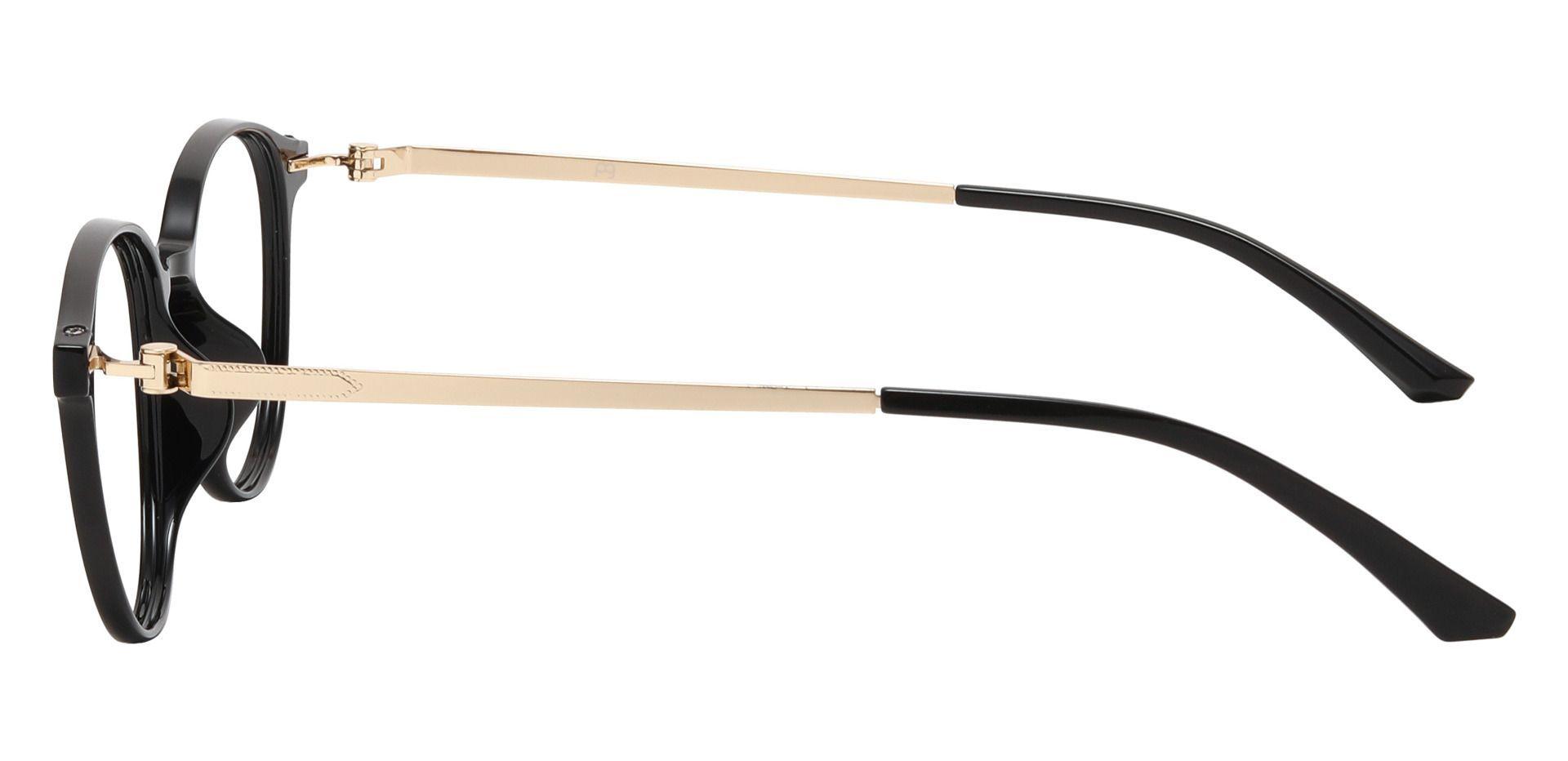 Springer Round Prescription Glasses - Black