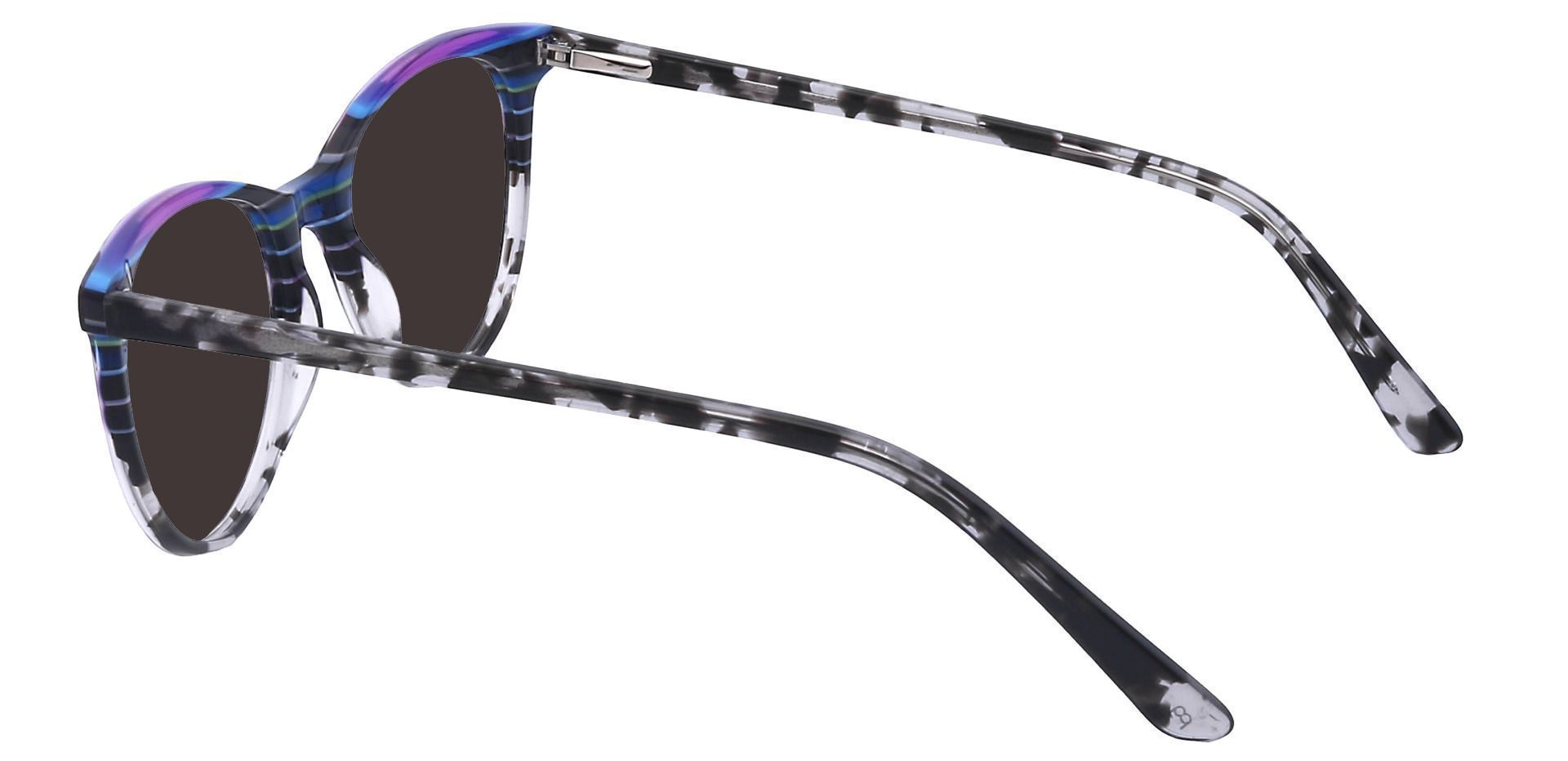 Patagonia Oval Prescription Sunglasses - Gray Frame With Gray Lenses