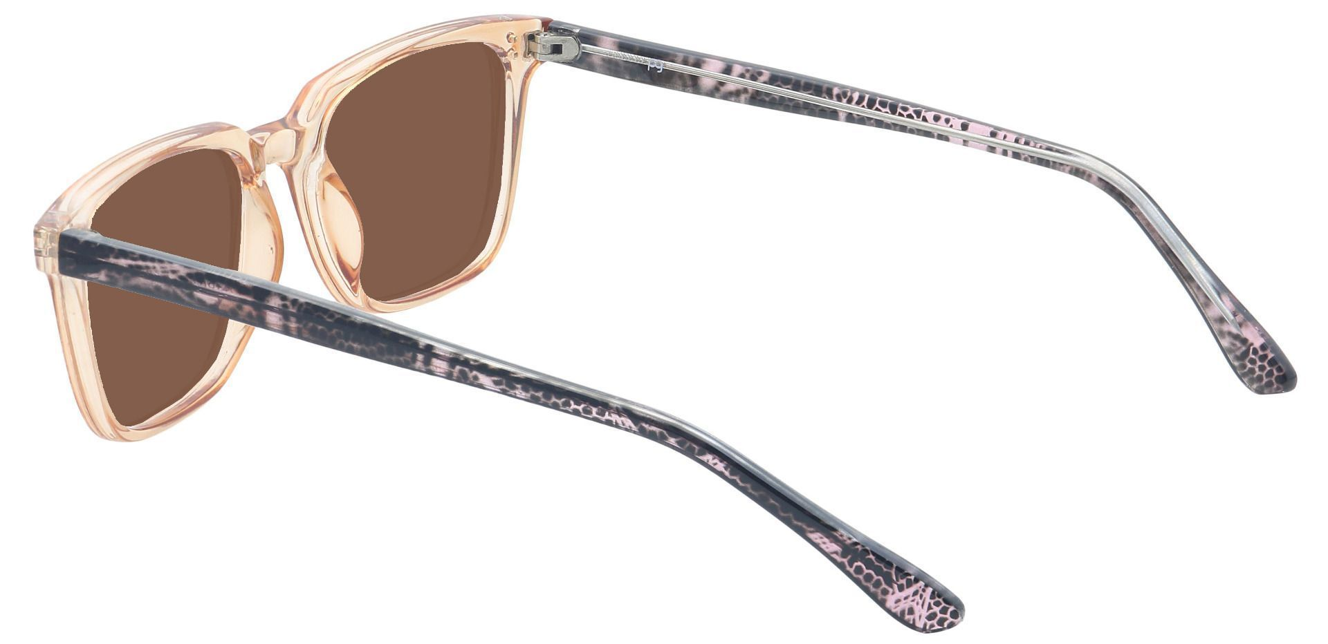 Harper Square Prescription Sunglasses - Brown Frame With Brown Lenses