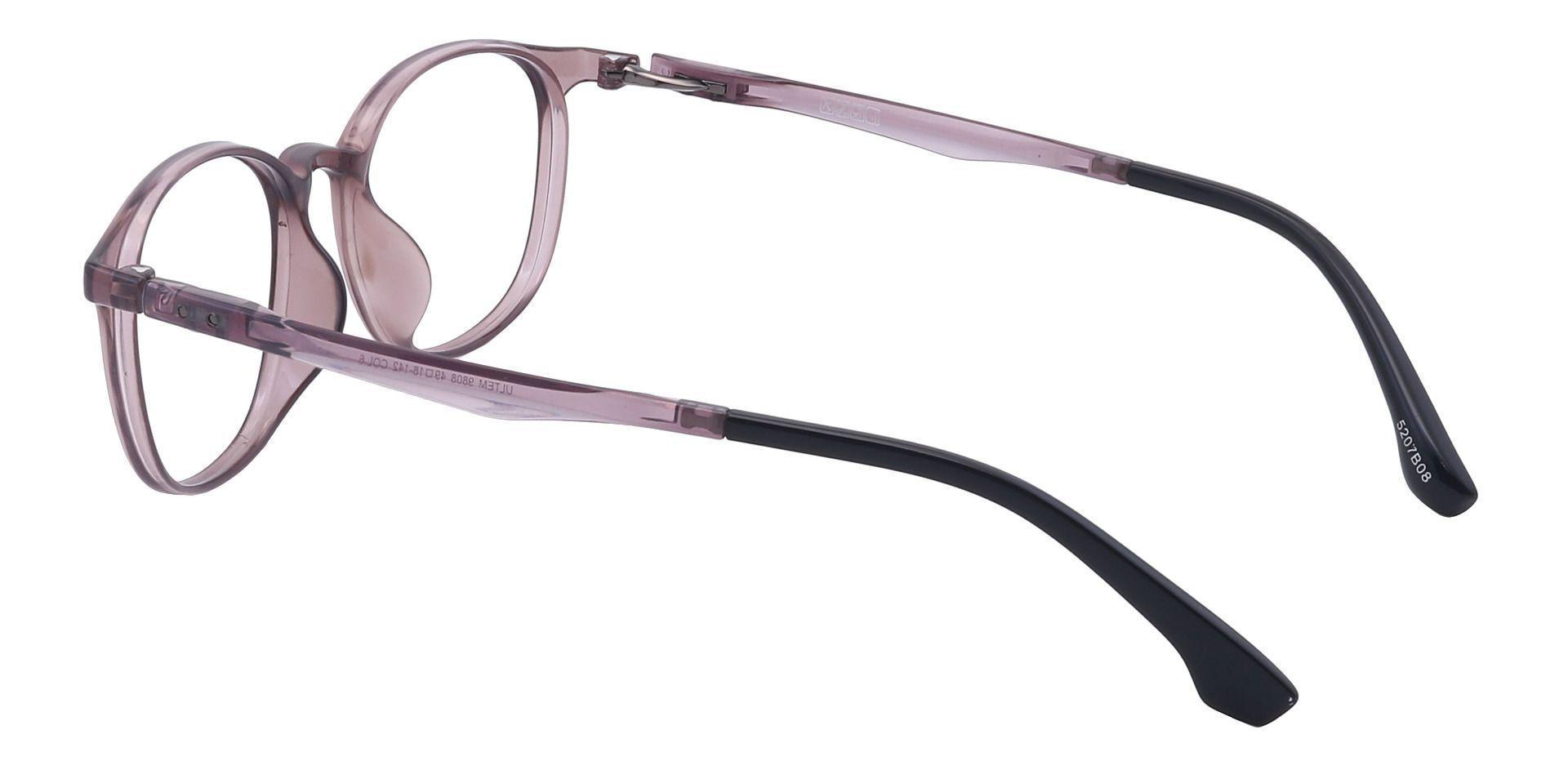 Shannon Oval Prescription Glasses - Brown