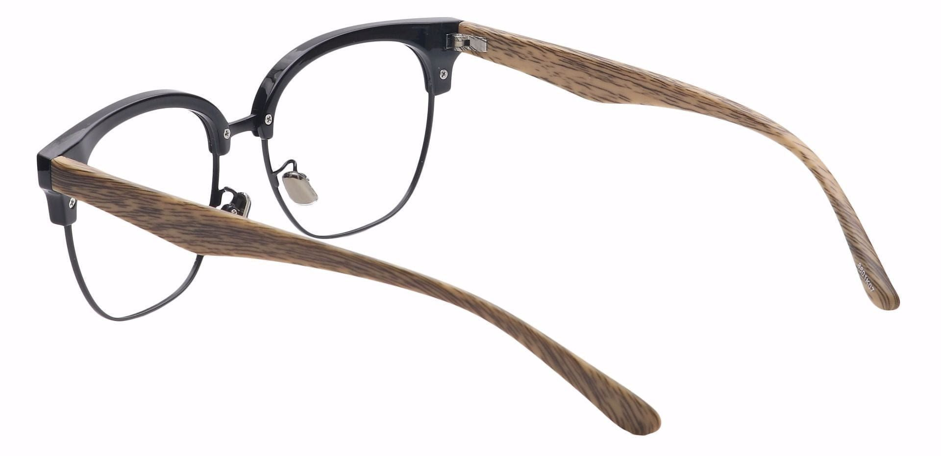 Debonair Browline Prescription Glasses - Black