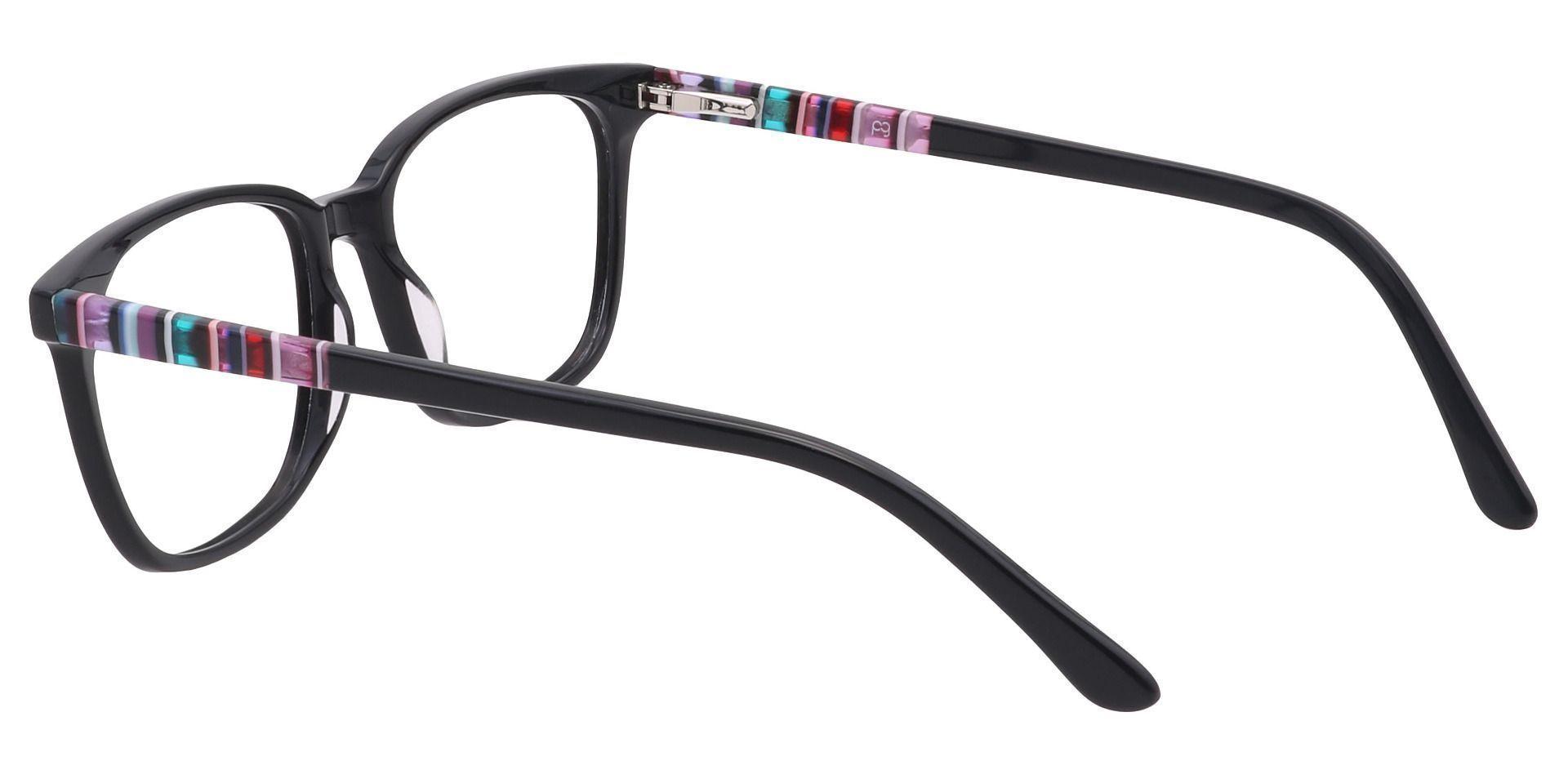 Fern Square Prescription Glasses - Black