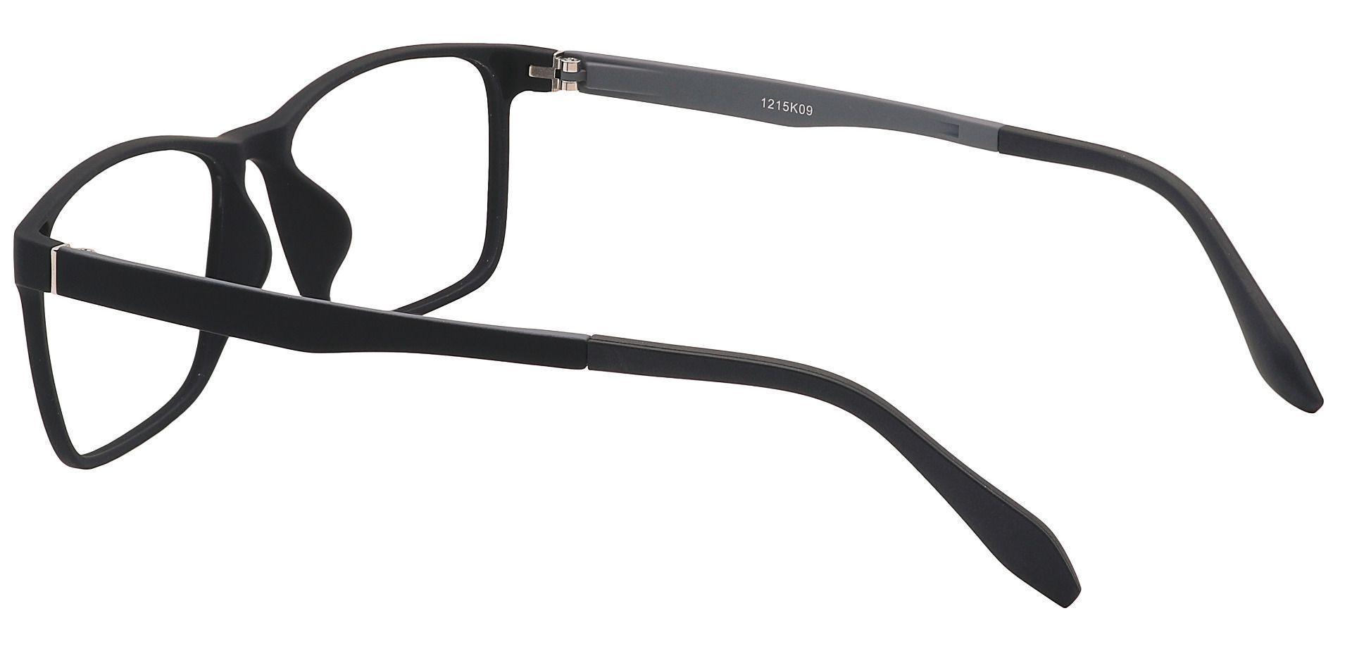 Toledo Square Prescription Glasses - Black