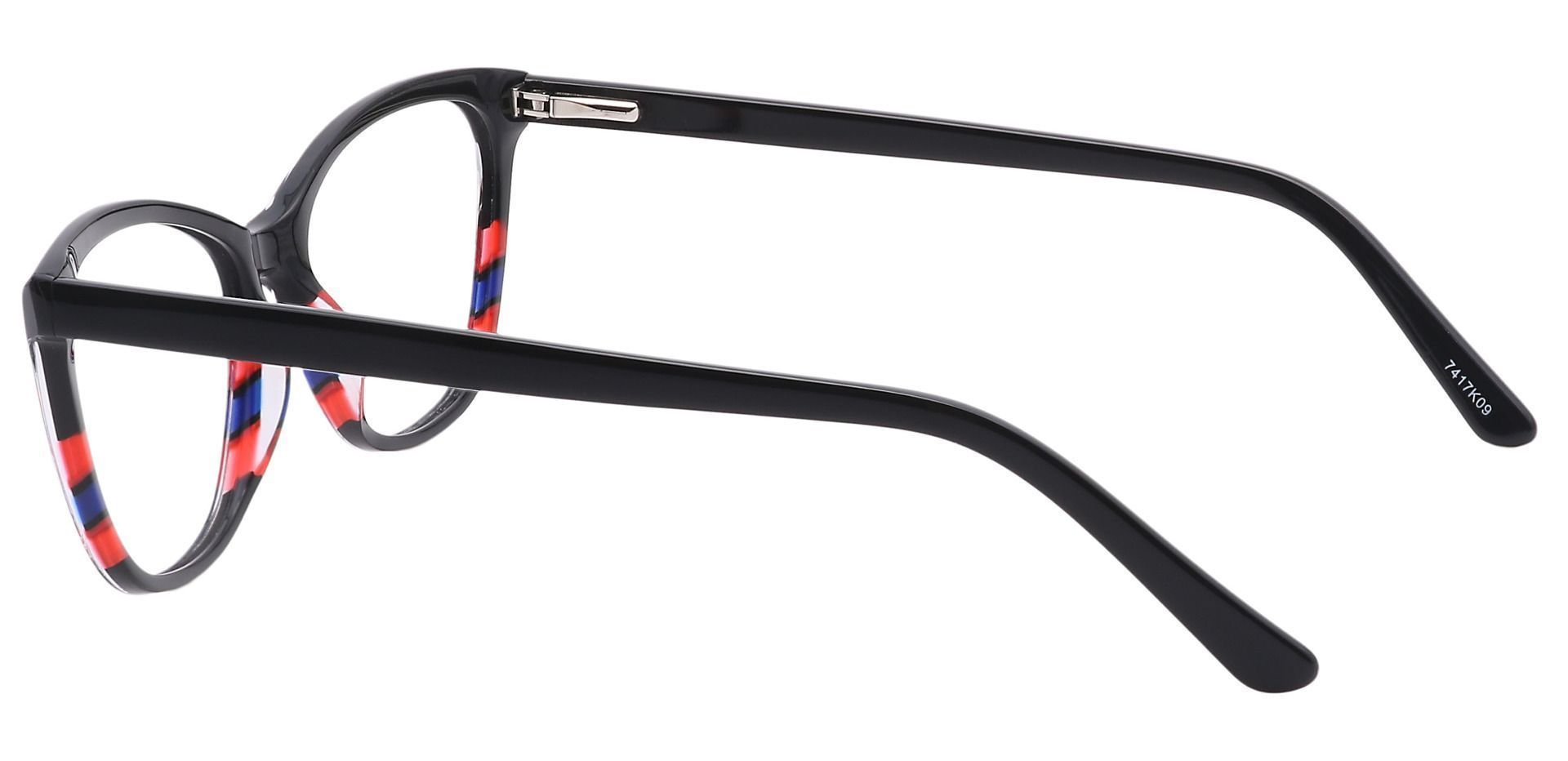 Pixie Cat-Eye Prescription Glasses - Black