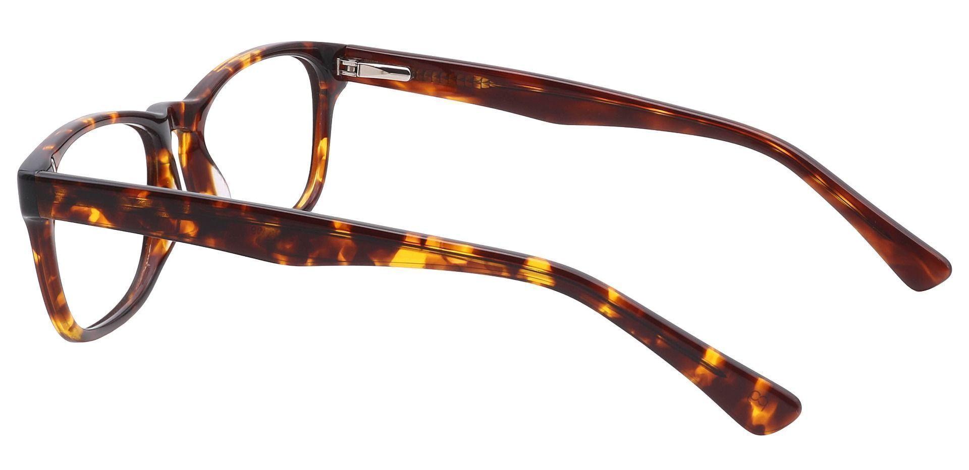 Morris Rectangle Eyeglasses Frame - Tortoise
