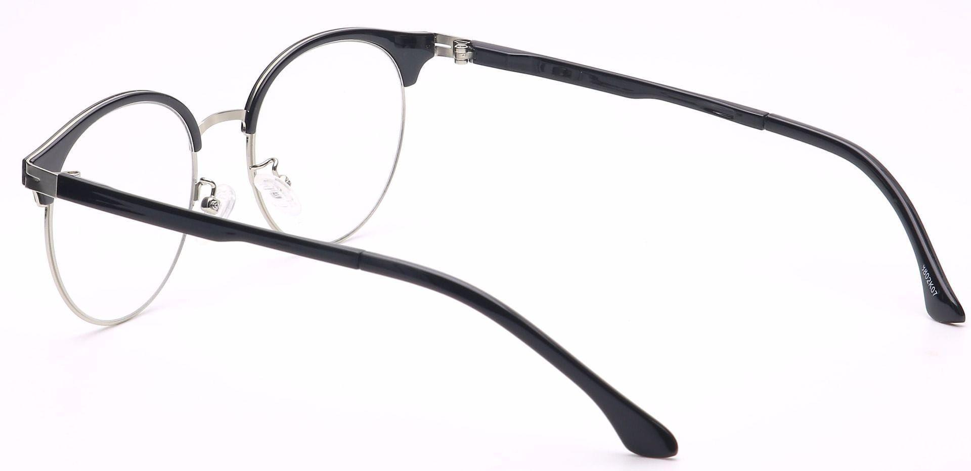 Glim Browline Prescription Glasses - Black