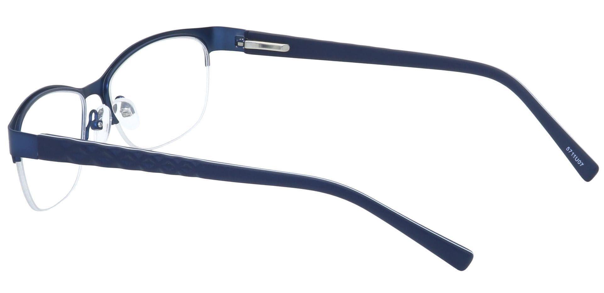 Nova Round Prescription Glasses - Blue