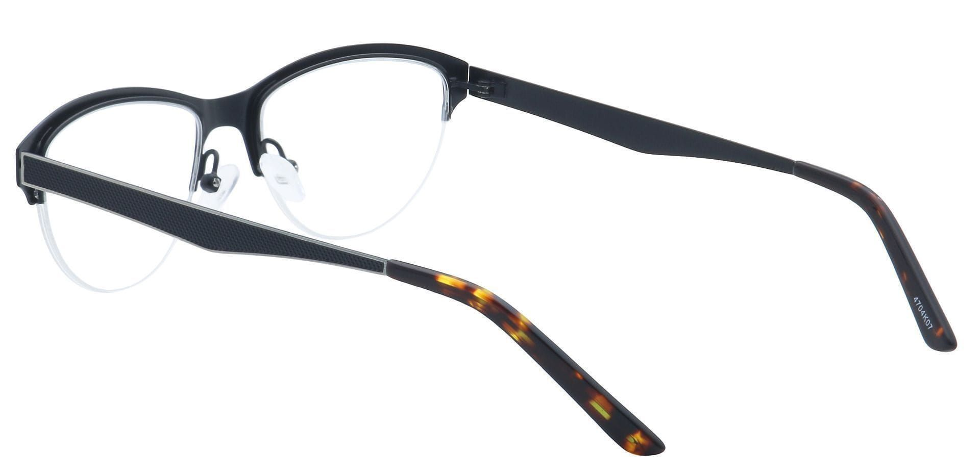 Joan Cat-Eye Progressive Glasses - Black