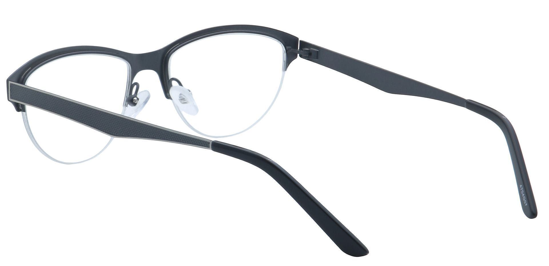 Joan Cat-Eye Prescription Glasses - Gray