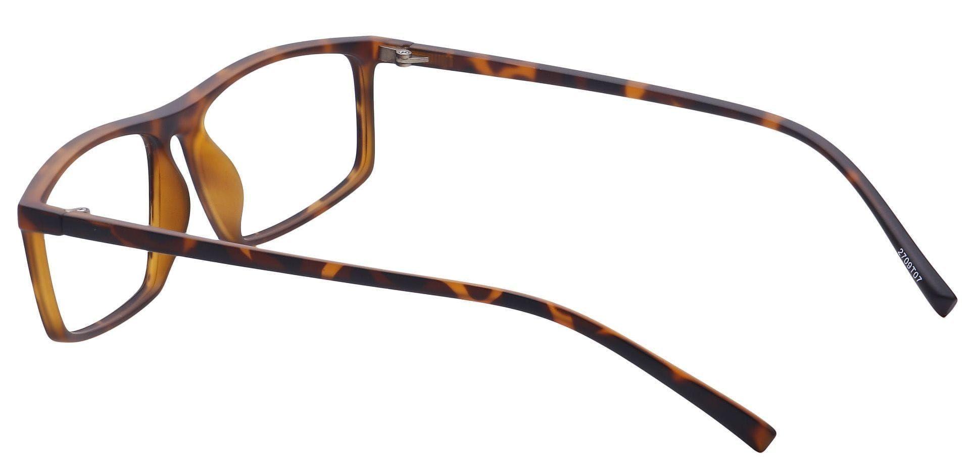 Deft Rectangle Prescription Glasses - Tortoise