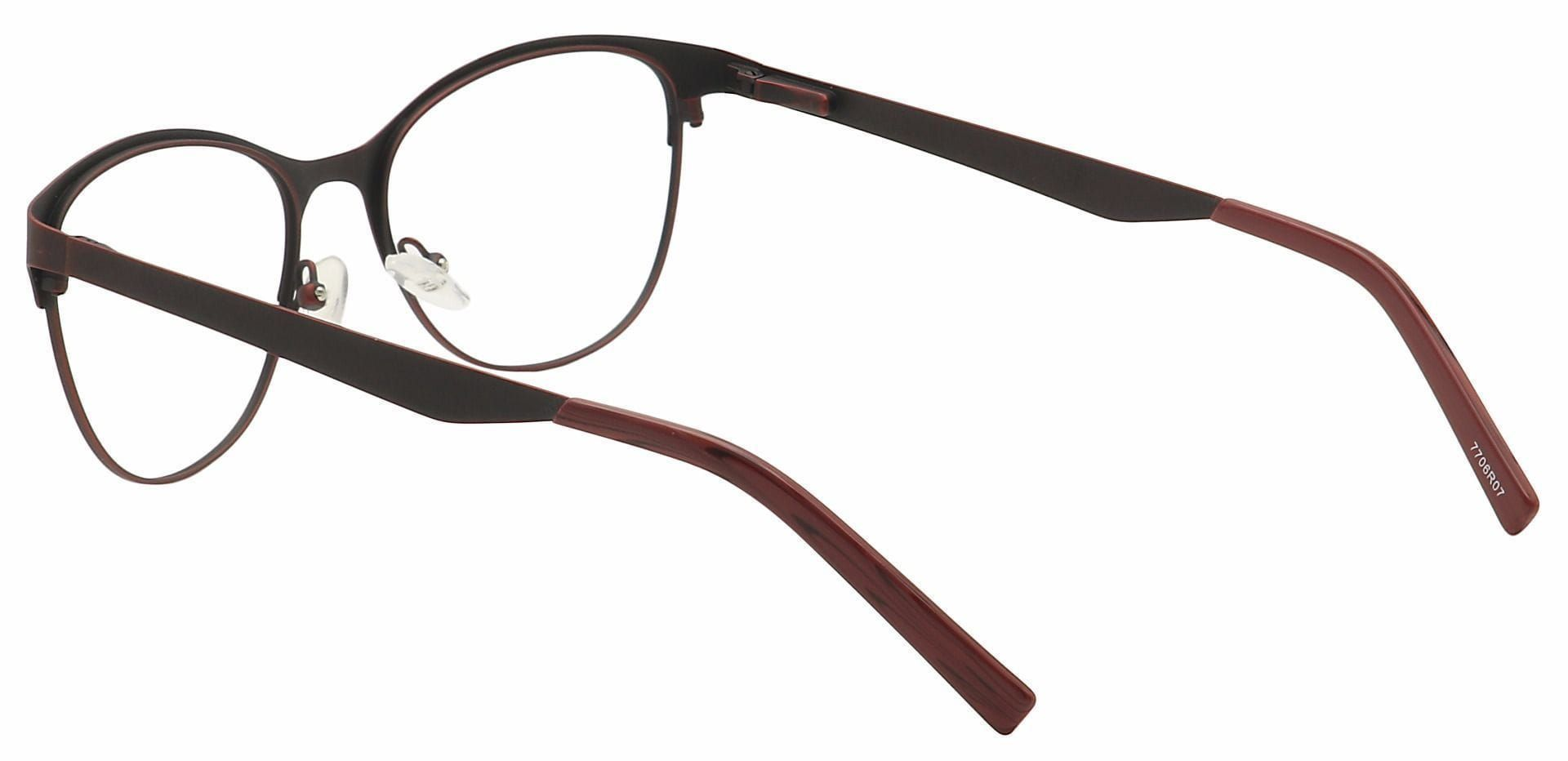 Feli Cat-Eye Non-Rx Glasses - Red