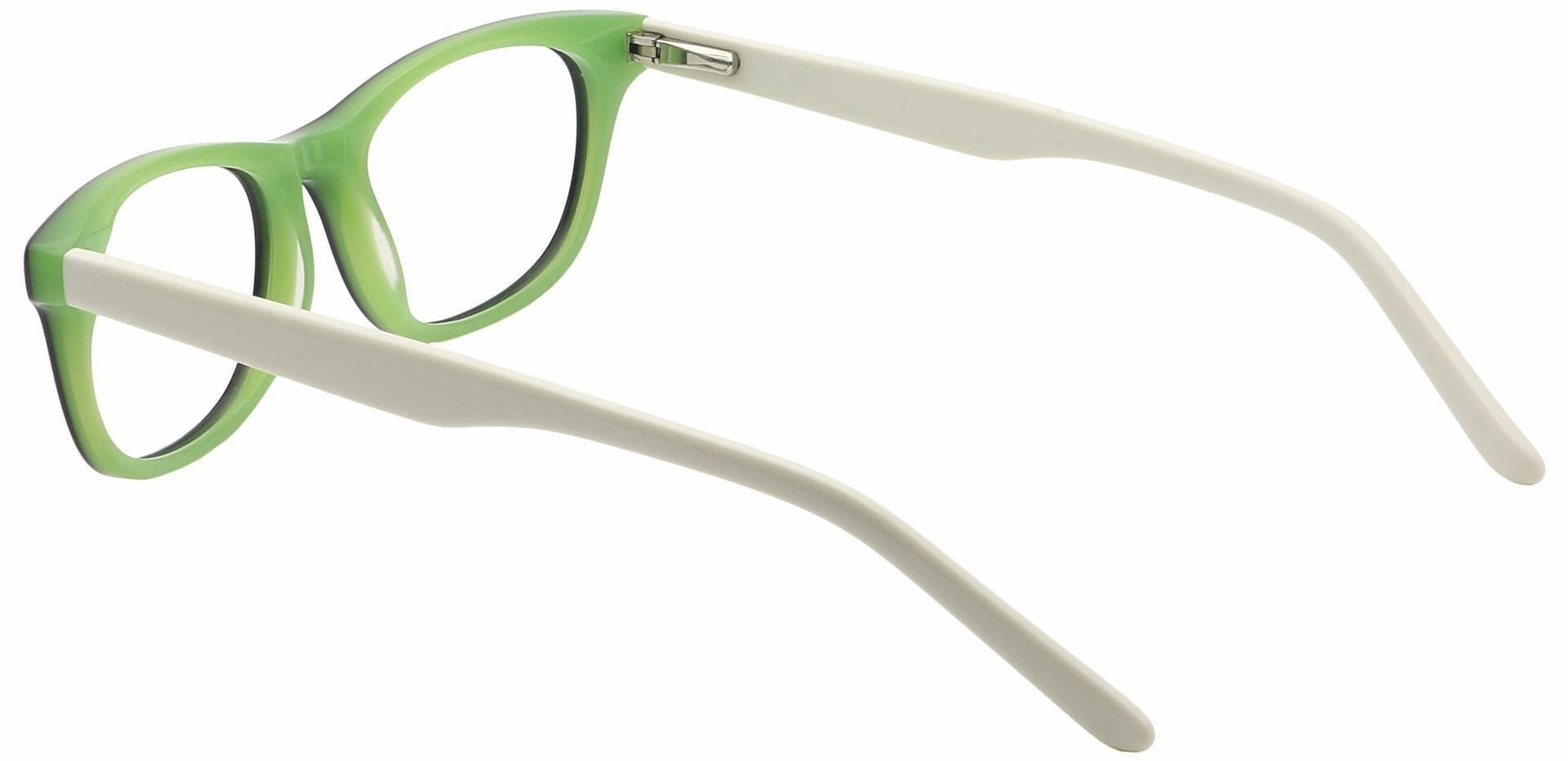 Bonnie Oval Prescription Glasses - White