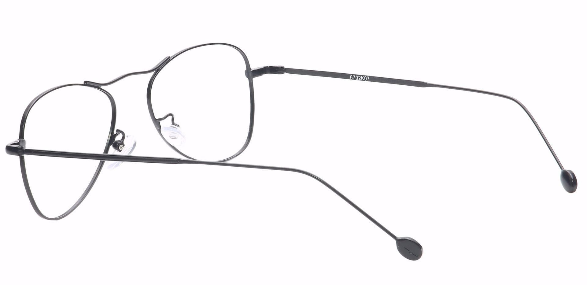 Brio Aviator Prescription Glasses - Black