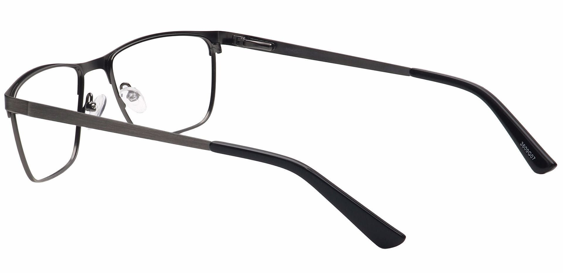 Paradigm Rectangle Lined Bifocal Glasses - Black
