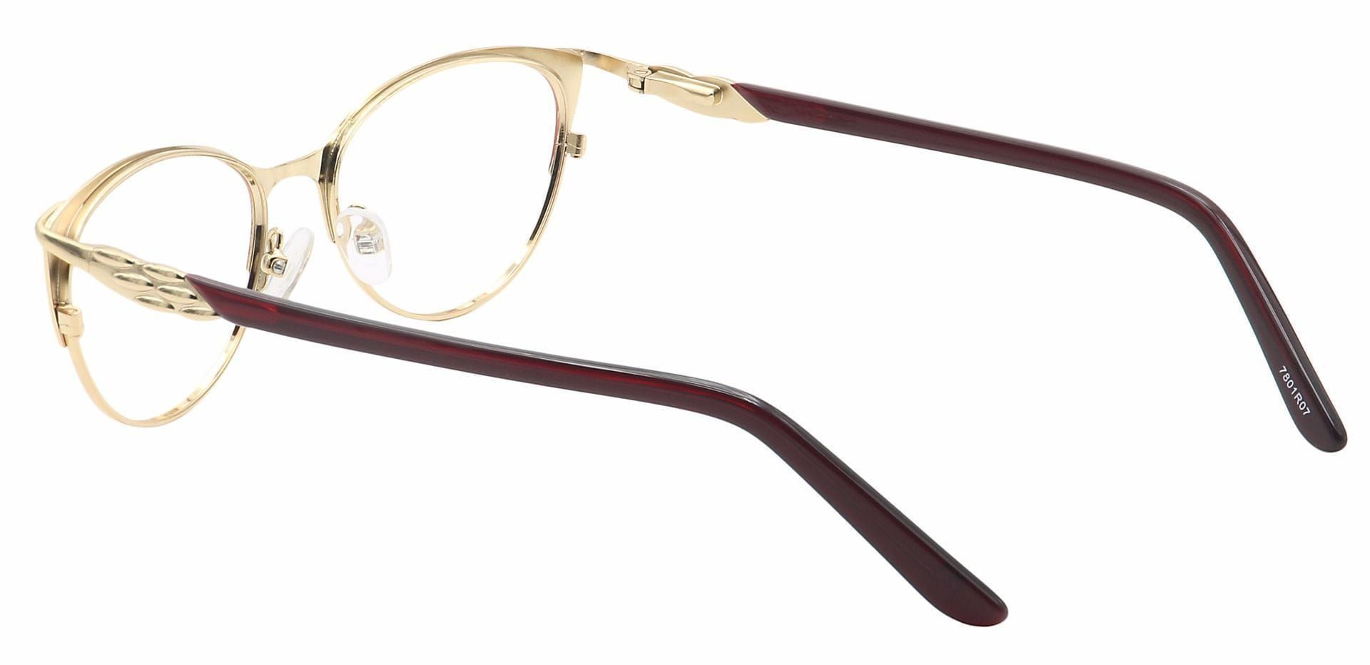 Dee Cat-Eye Prescription Glasses - Red