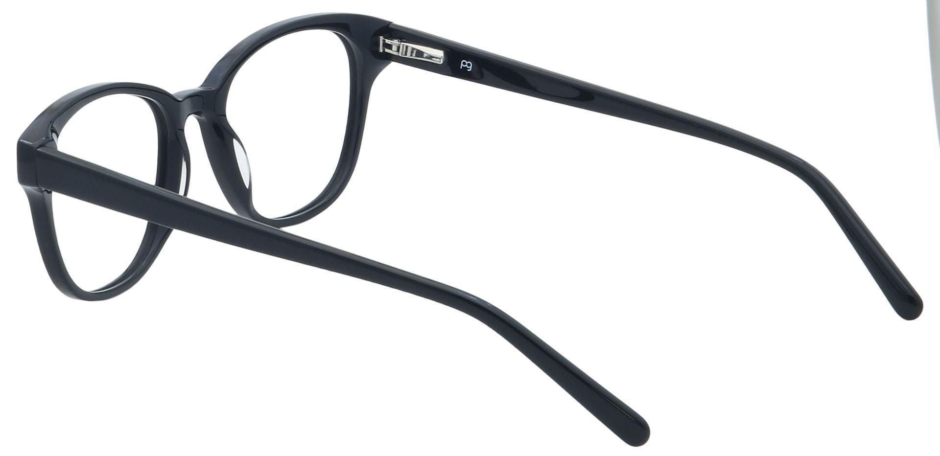Pinnacle Classic Square Prescription Glasses - Black