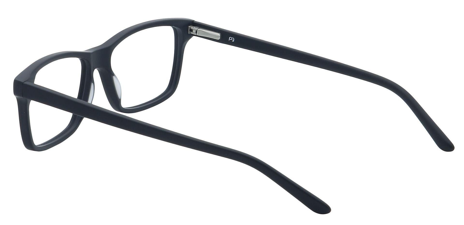 Classic Rectangle Prescription Glasses - Black