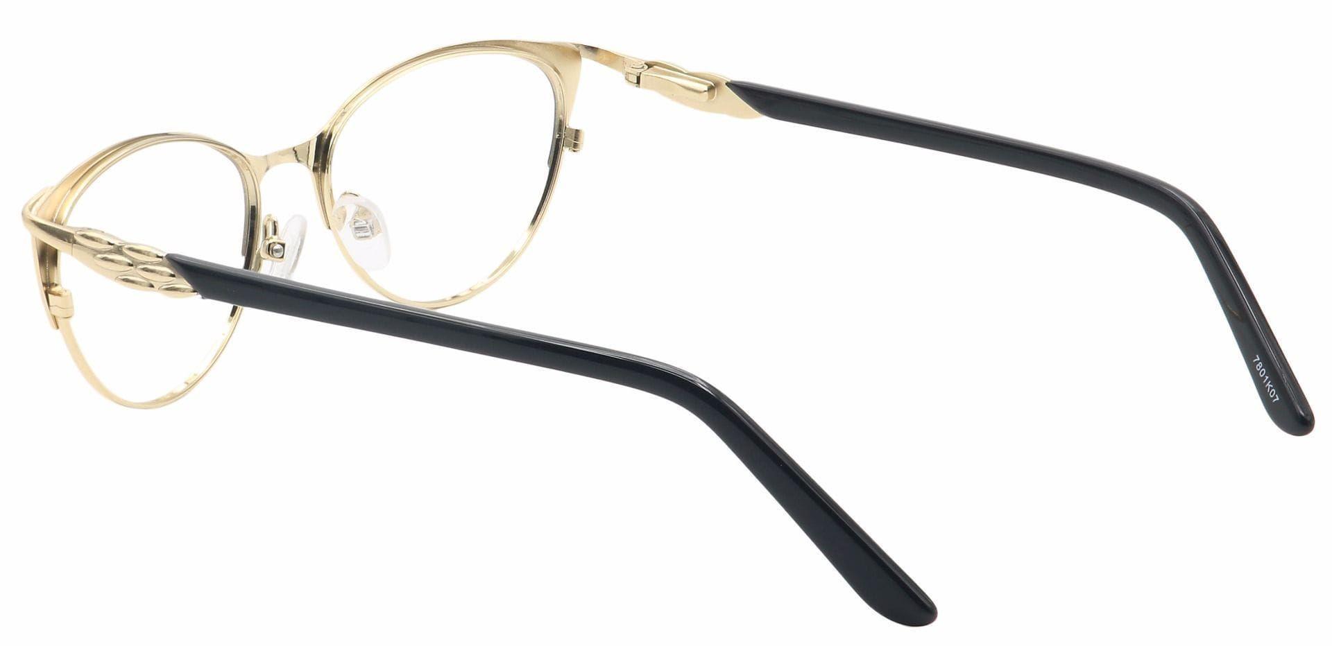 Dee Cat-Eye Prescription Glasses - Black
