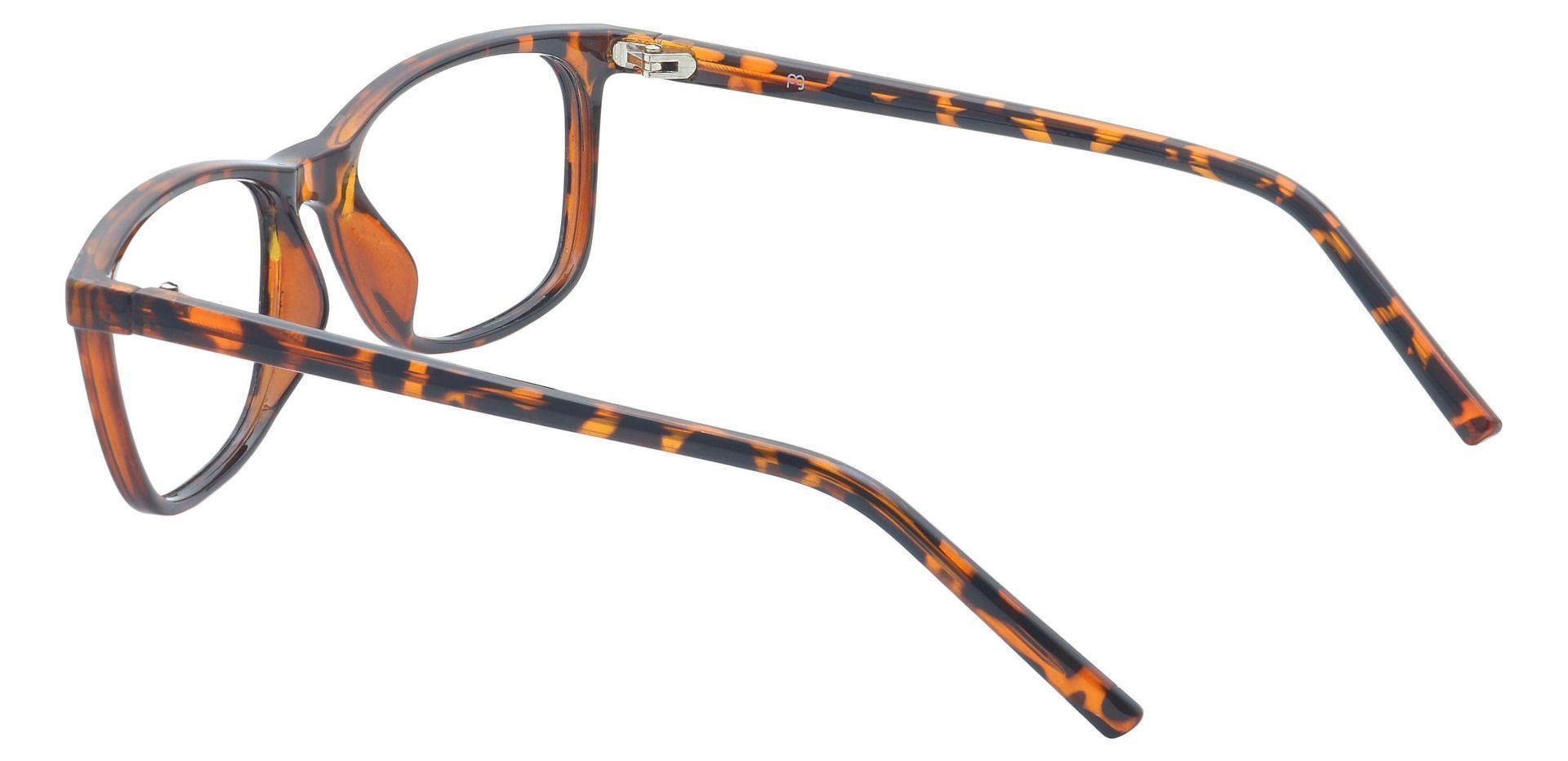 Safita Oval Progressive Glasses - Tortoise