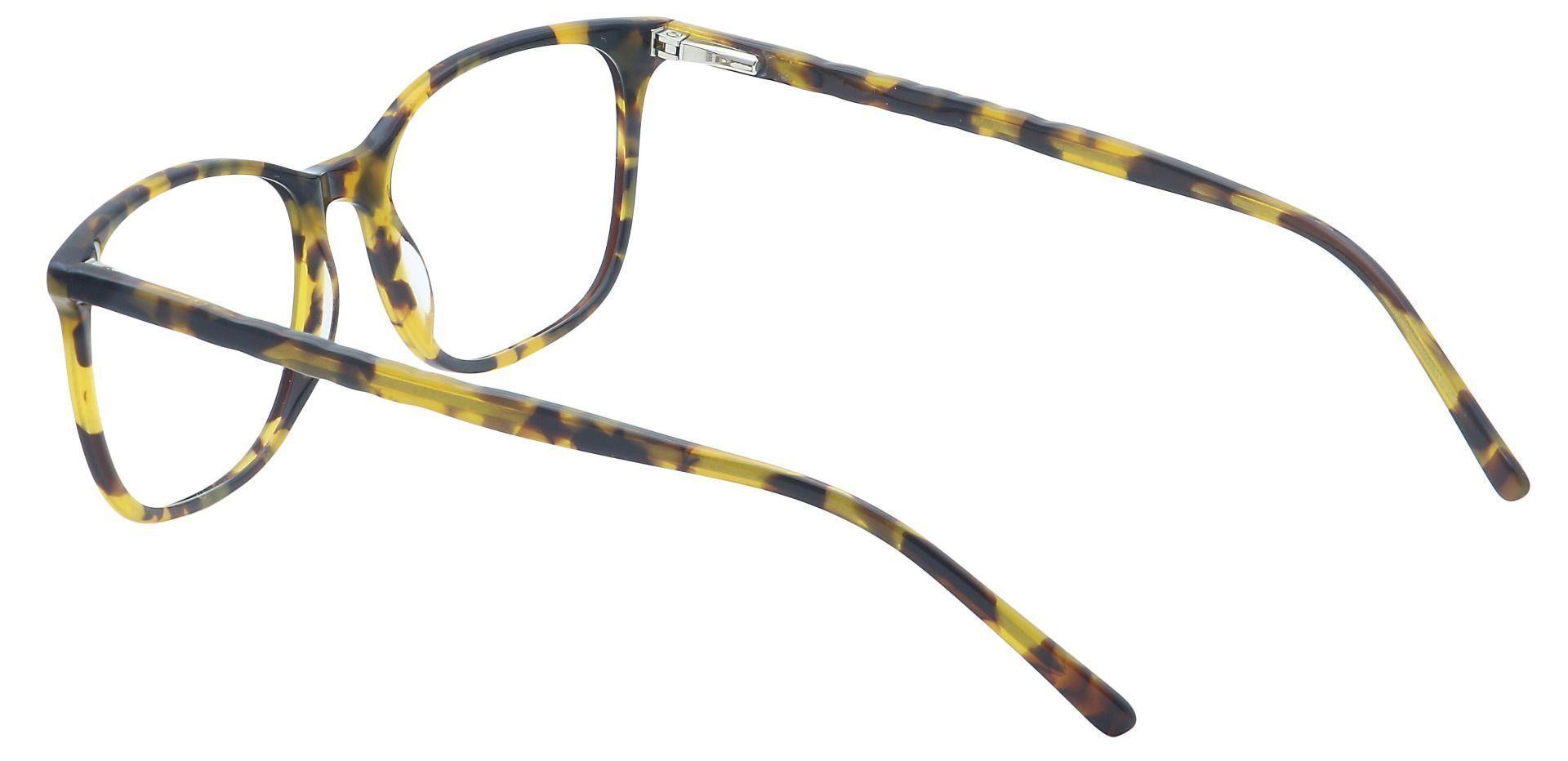 Mason Square Non-Rx Glasses - Brown