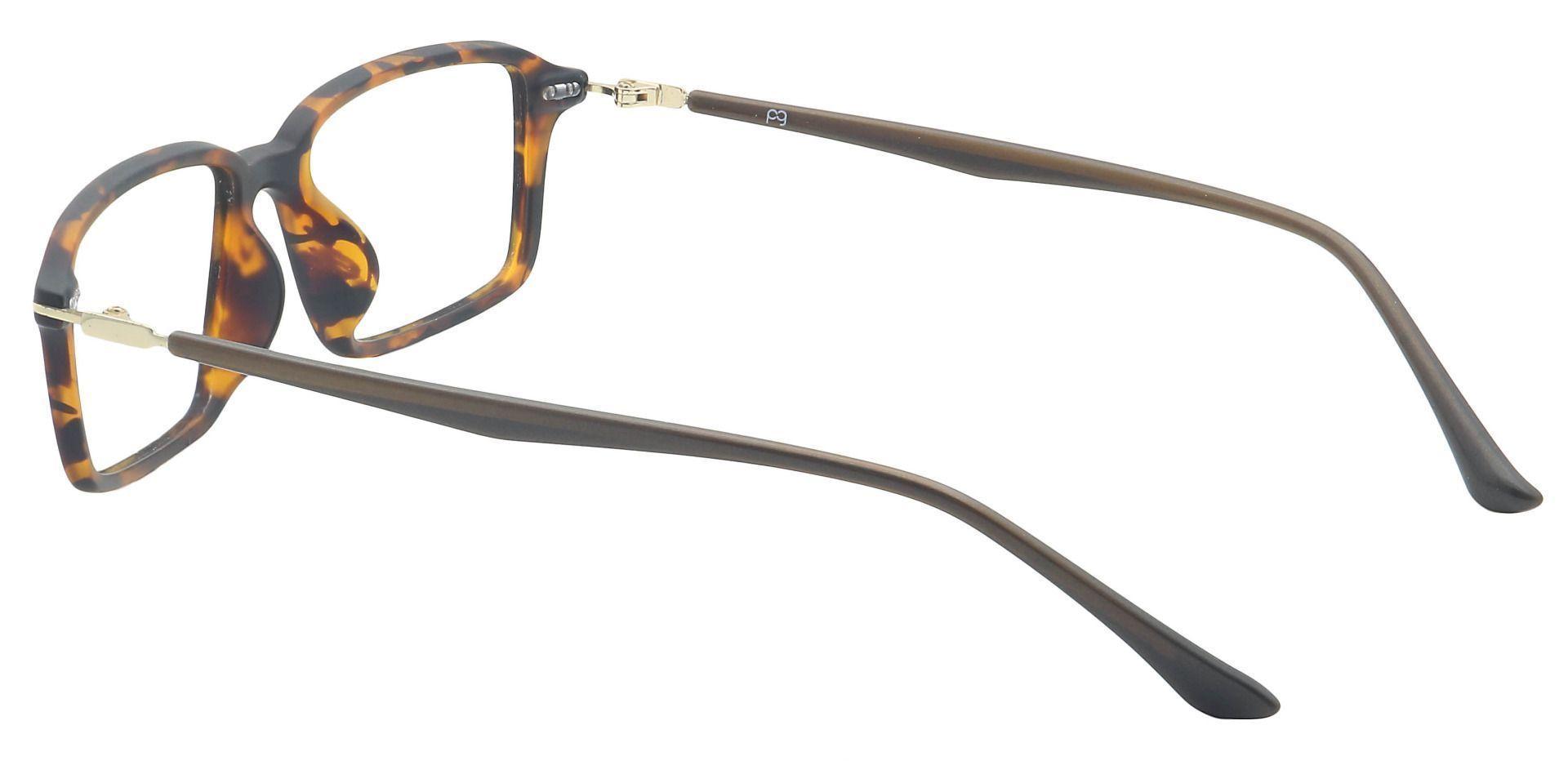 Austin Rectangle Prescription Glasses - Tortoise