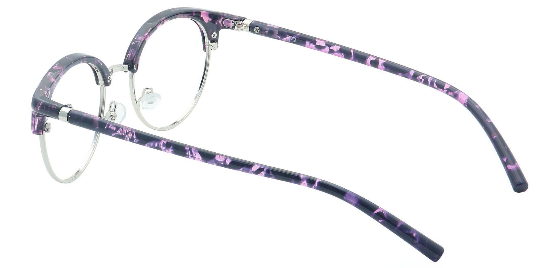 Harper Browline Non-Rx Glasses - Purple