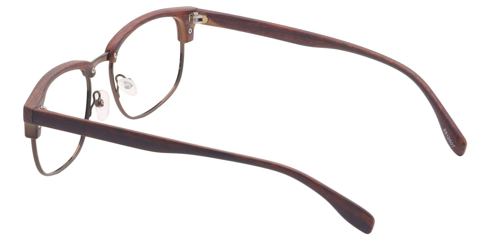Alvin Browline Prescription Glasses - Striped