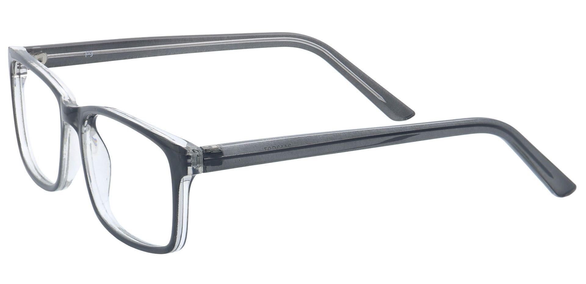Cruz Rectangle Prescription Glasses - Gray