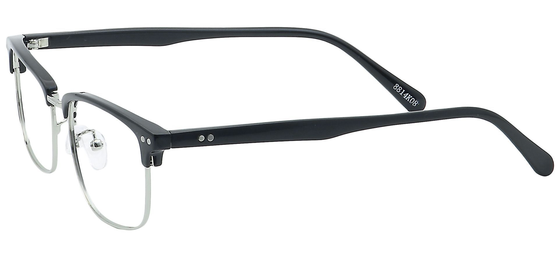 Adrian Browline Prescription Glasses - Black