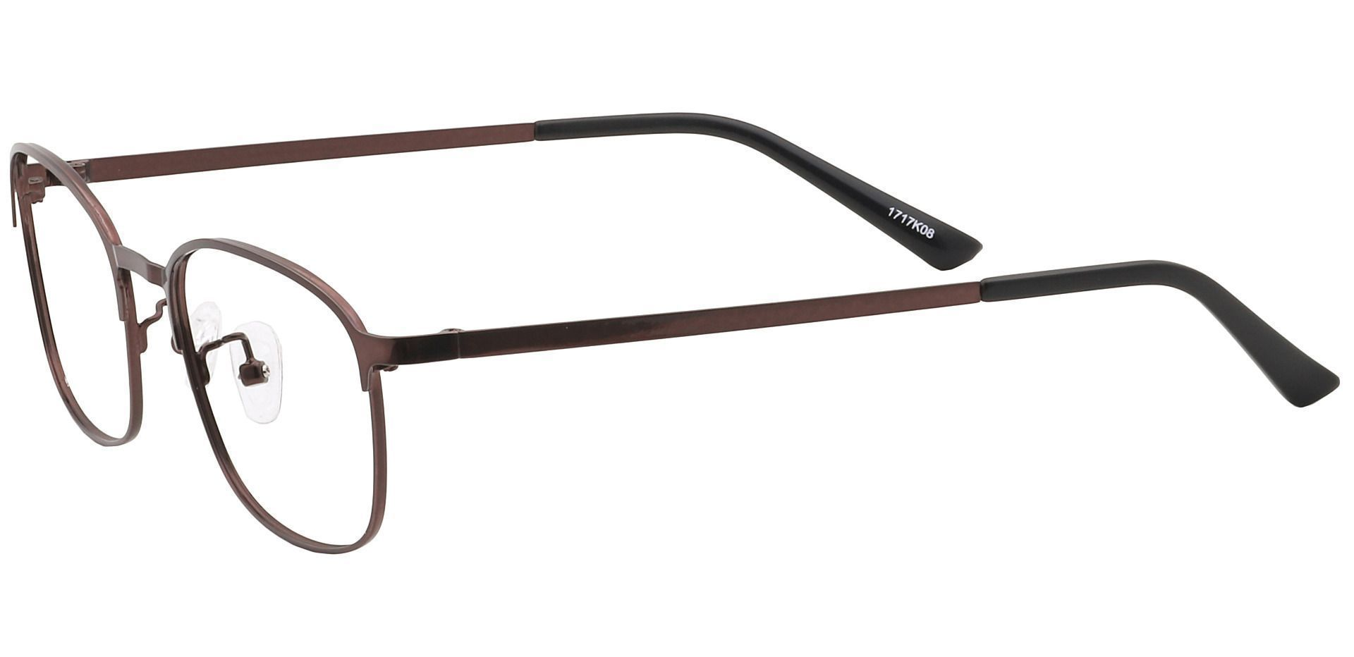 Carmen Square Non-Rx Glasses - Black
