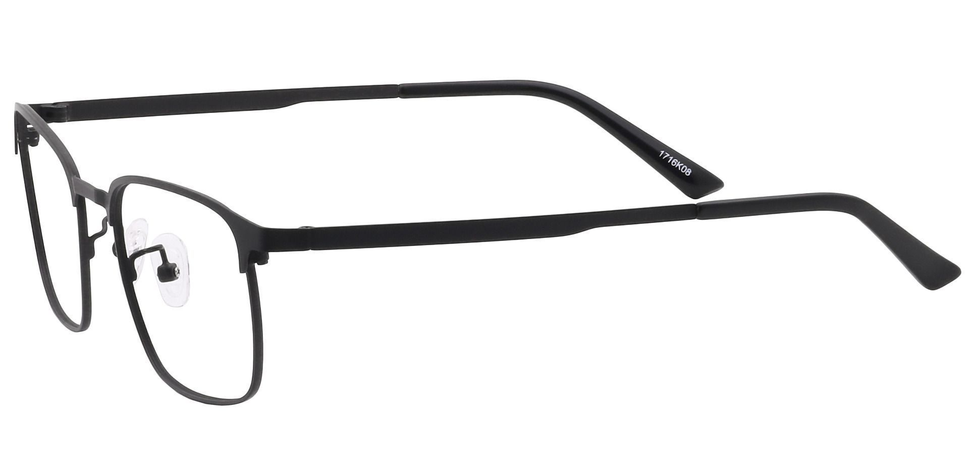 Kingston Square Reading Glasses - Black