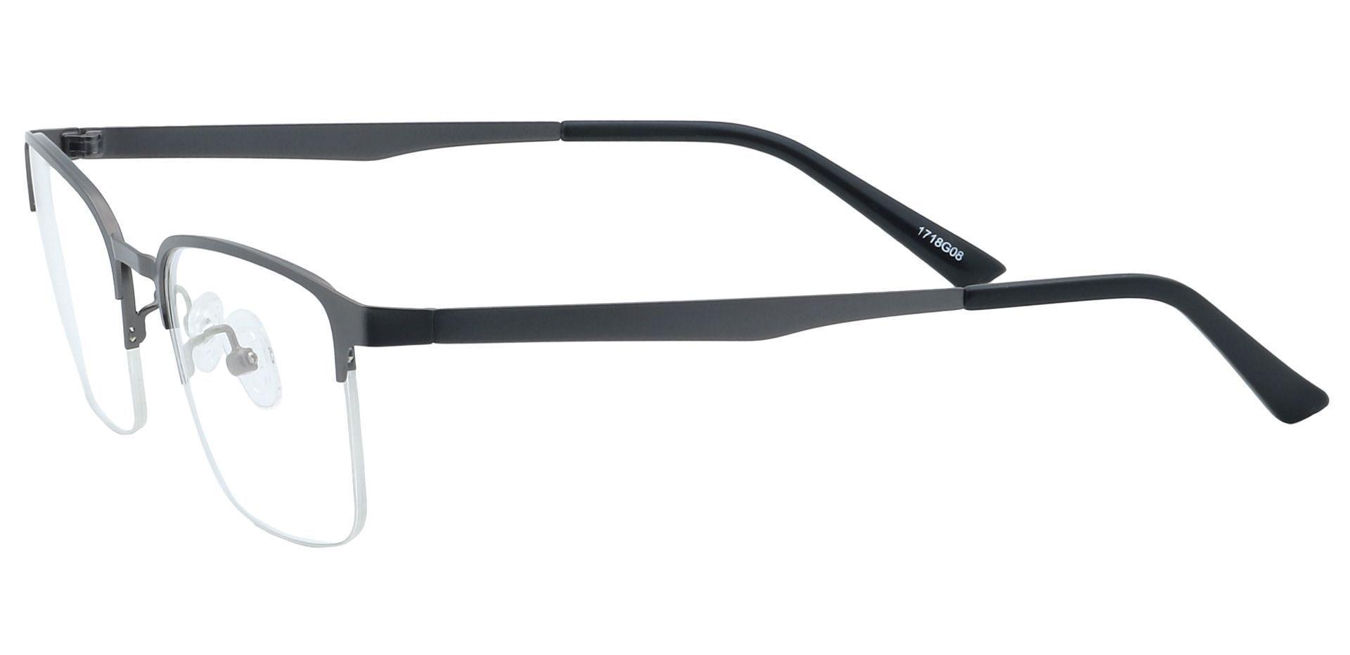 Eden Square Prescription Glasses - Gray