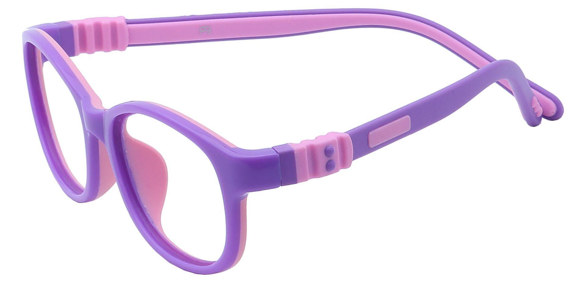 Breezy Oval Prescription Glasses - Purple