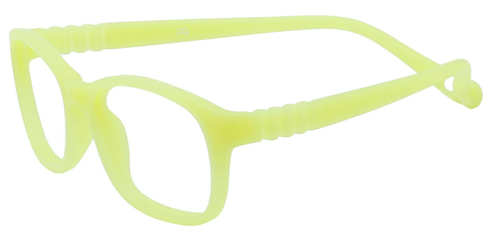Sunny Oval Blue Light Blocking Glasses - Yellow