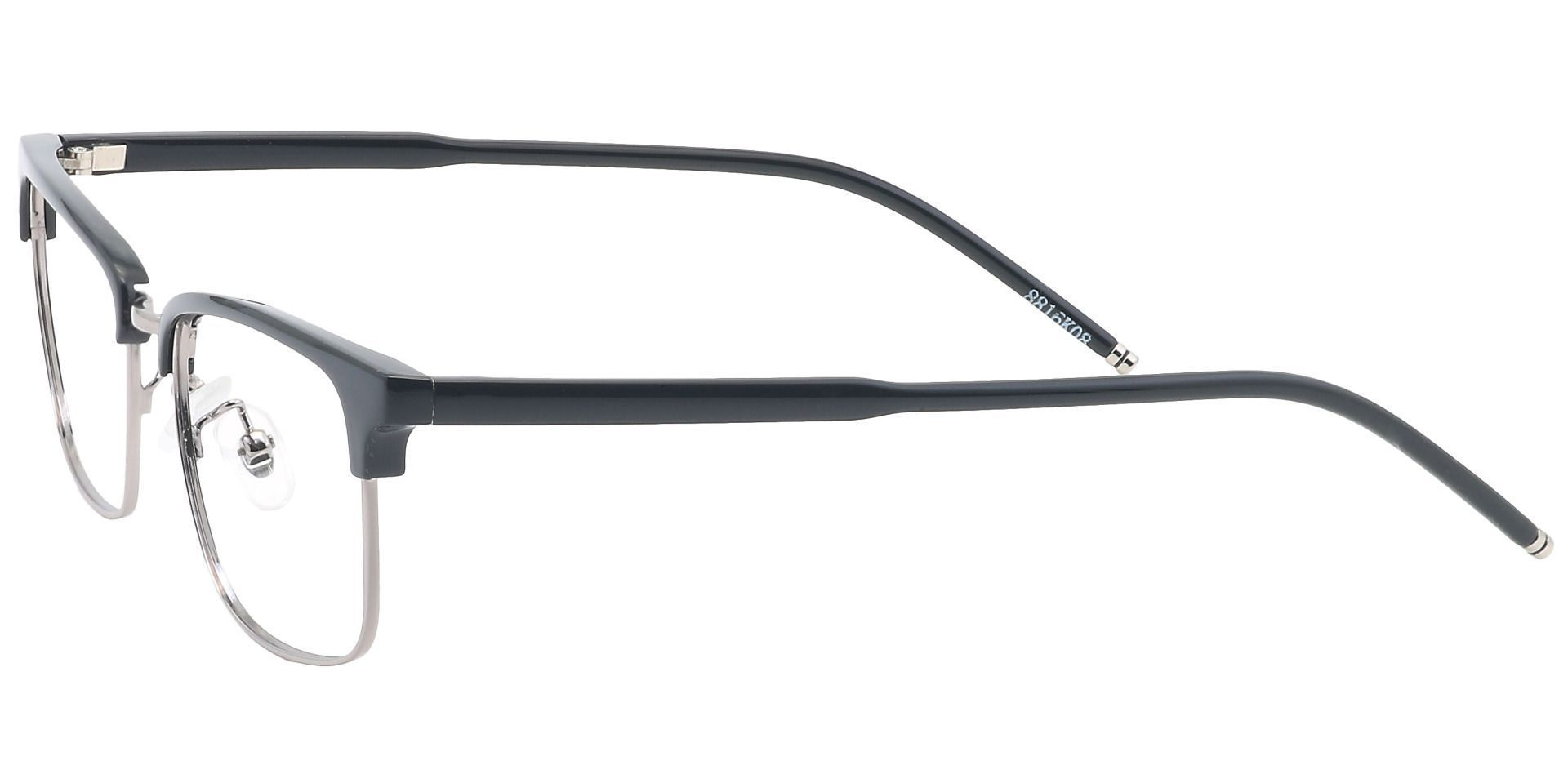 Hyde Browline Prescription Glasses - Black