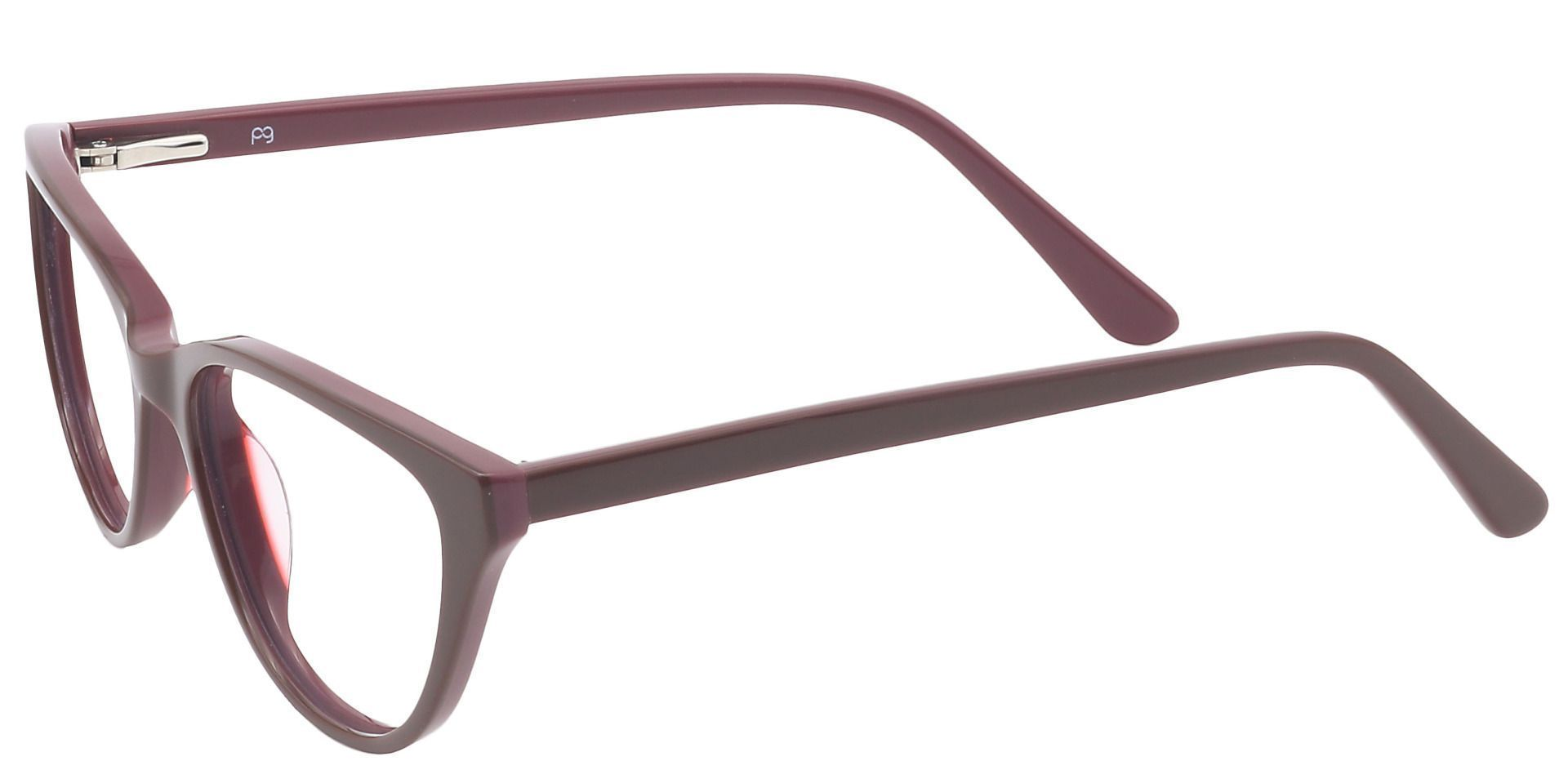 Matilda Cat-Eye Prescription Glasses - Brown