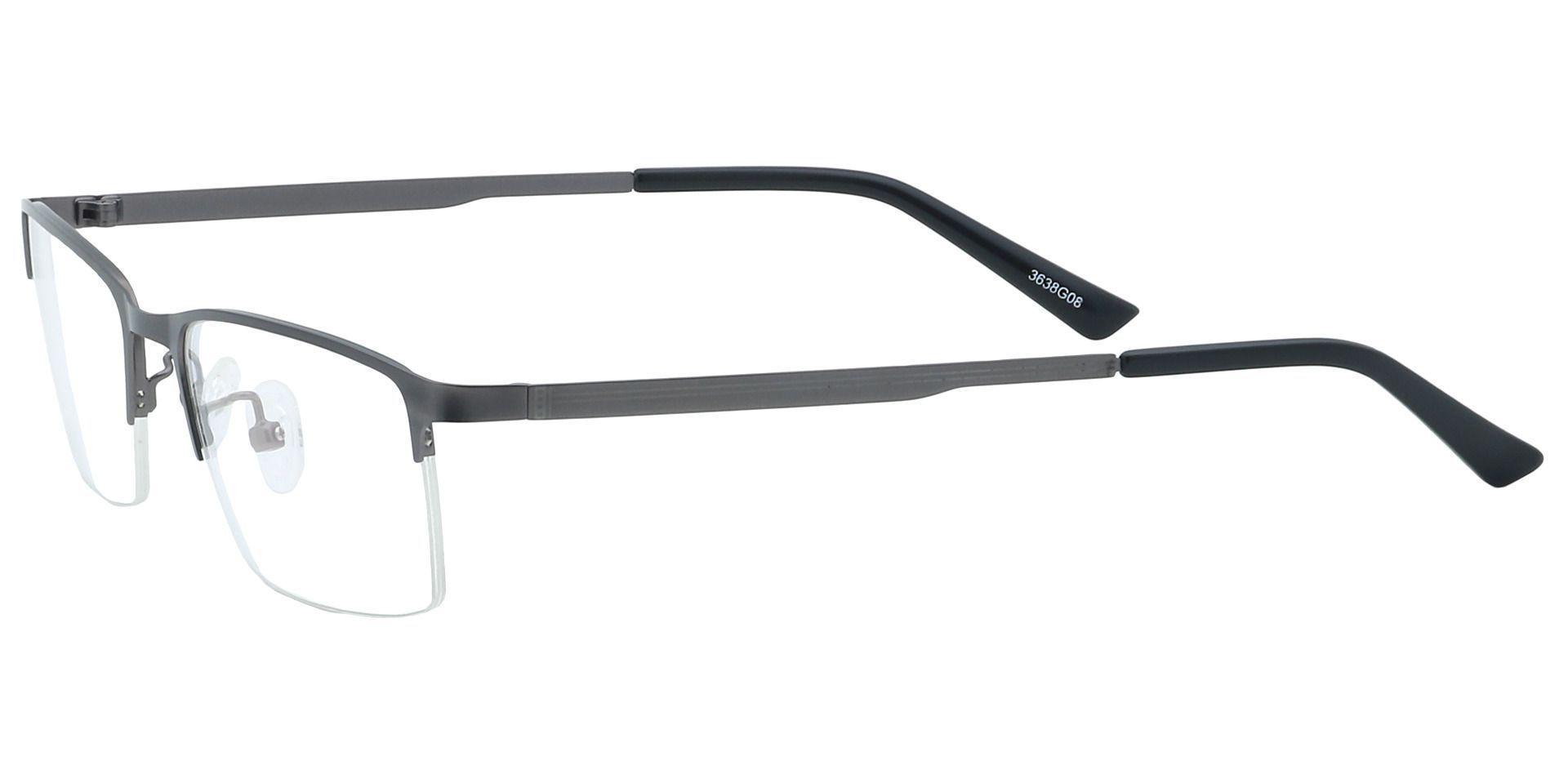 Rue Rectangle Reading Glasses - Gray