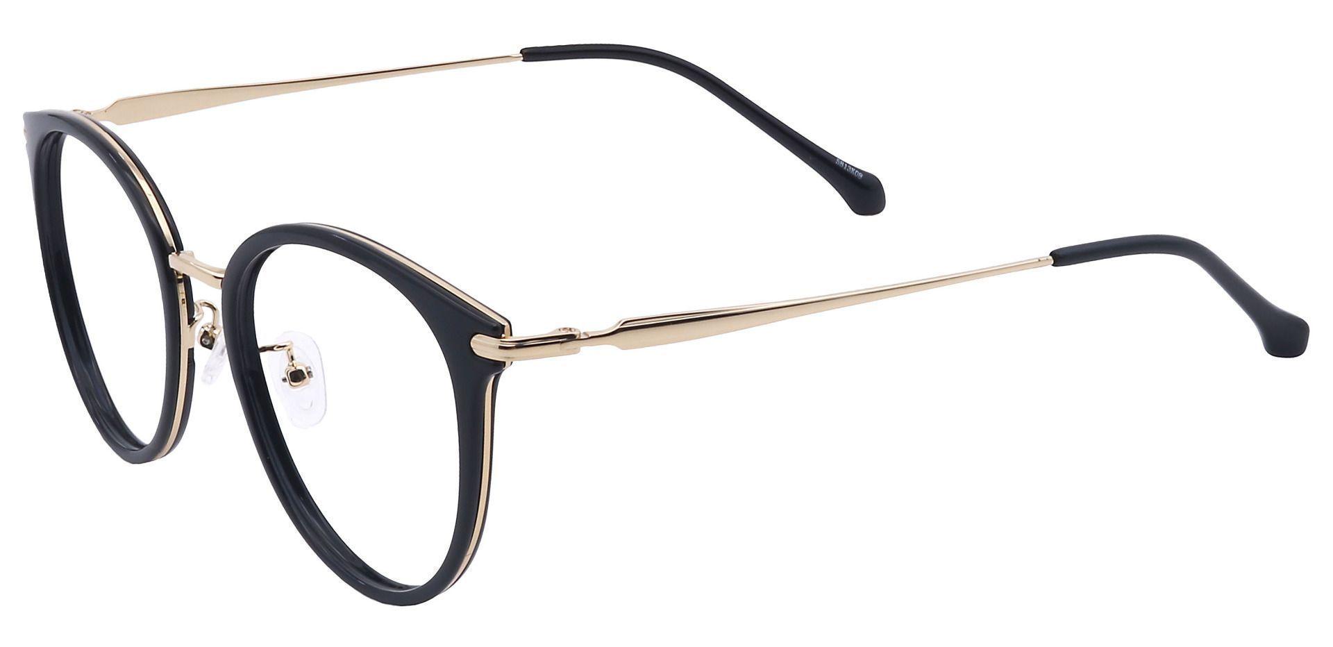 Midas Round Reading Glasses - Black