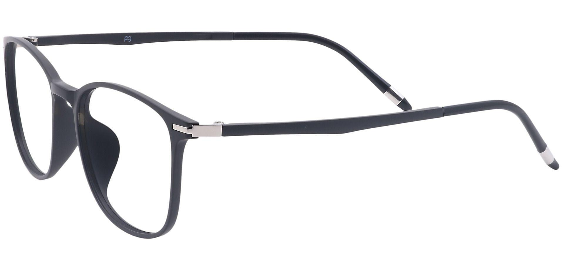Allison Oval Prescription Glasses - Black